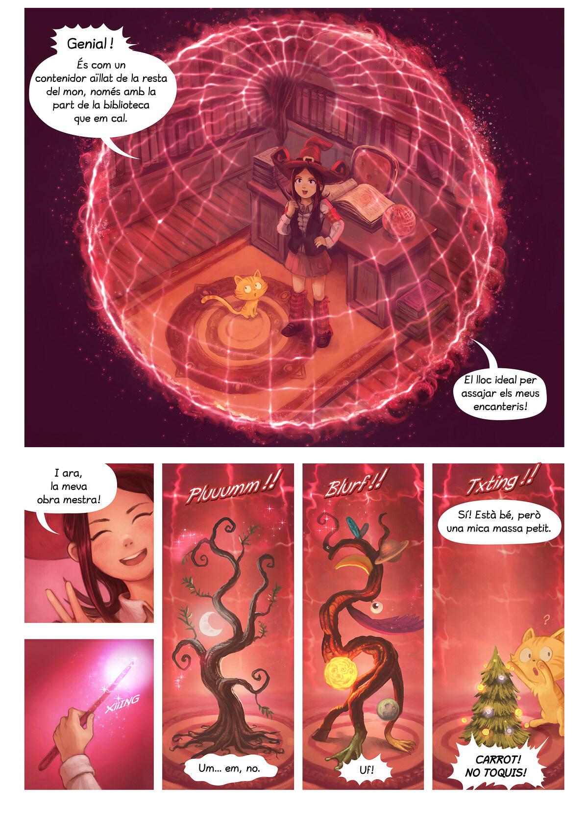 A webcomic page of Pepper&Carrot, episodi 24 [ca], pàgina 4