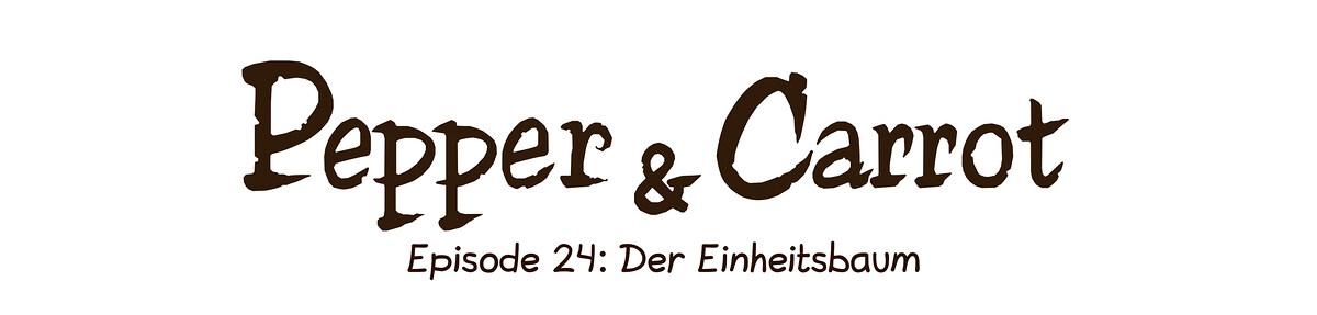 A webcomic page of Pepper&Carrot, Episode 24 [de], Seite 0