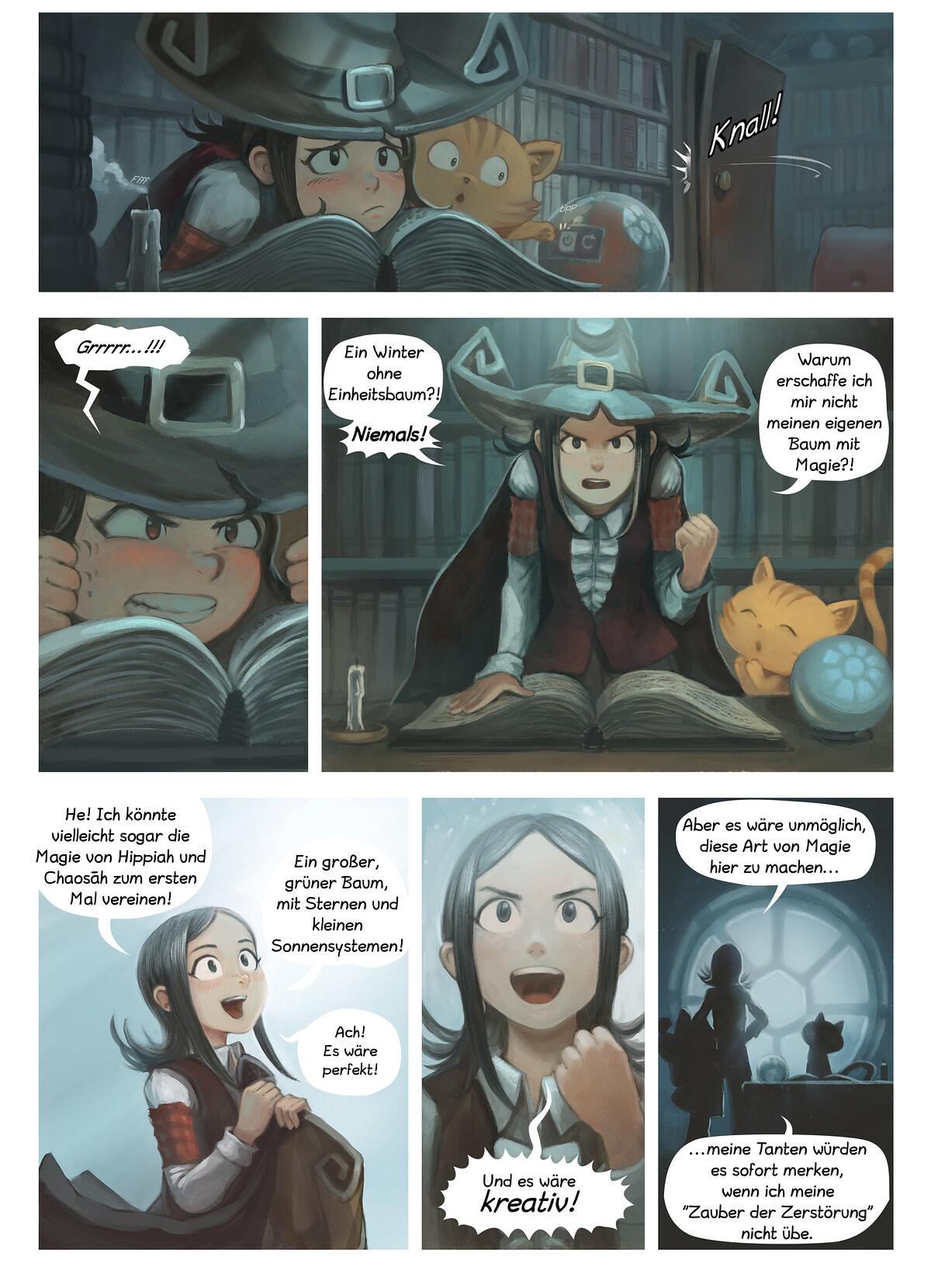 A webcomic page of Pepper&Carrot, Episode 24 [de], Seite 2