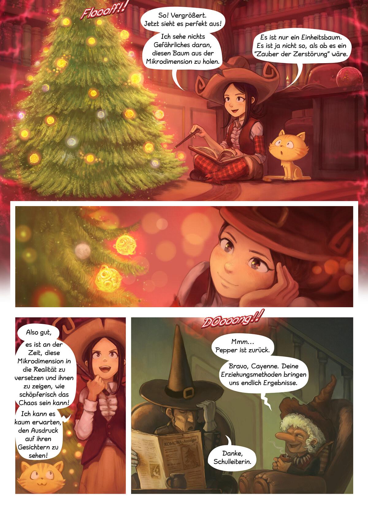 A webcomic page of Pepper&Carrot, Episode 24 [de], Seite 5