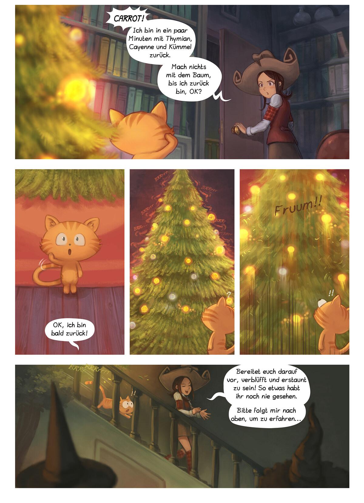 A webcomic page of Pepper&Carrot, Episode 24 [de], Seite 6
