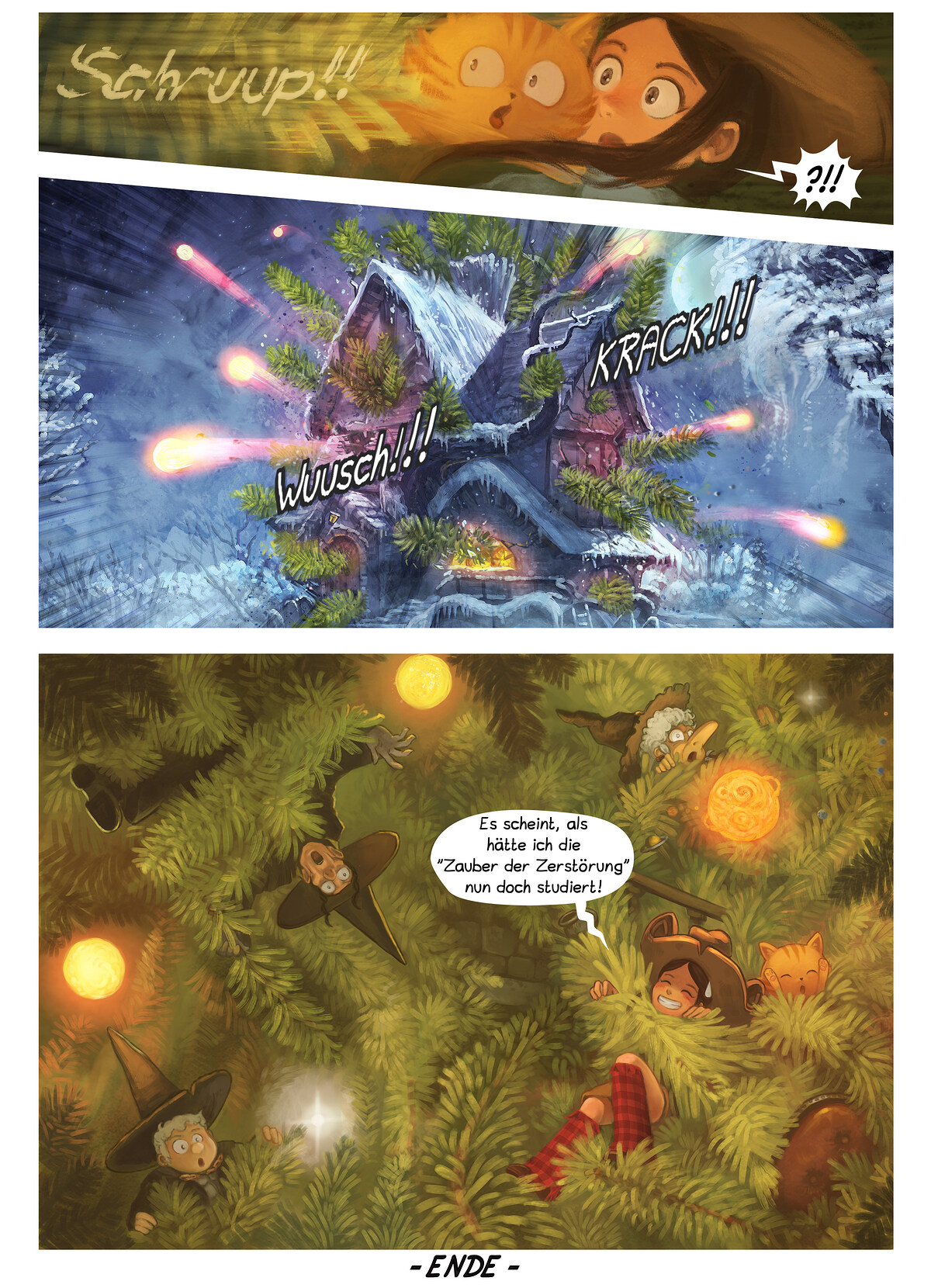 A webcomic page of Pepper&Carrot, Episode 24 [de], Seite 7