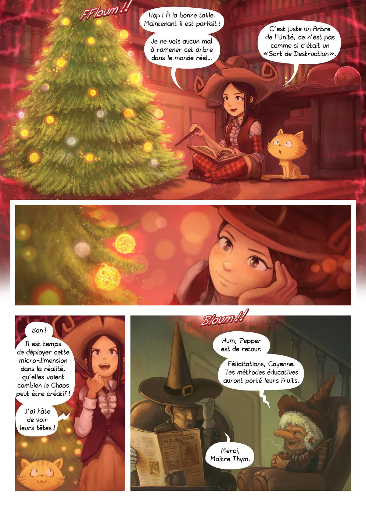 A webcomic page of Pepper&Carrot, épisode 24 [fr], page 5