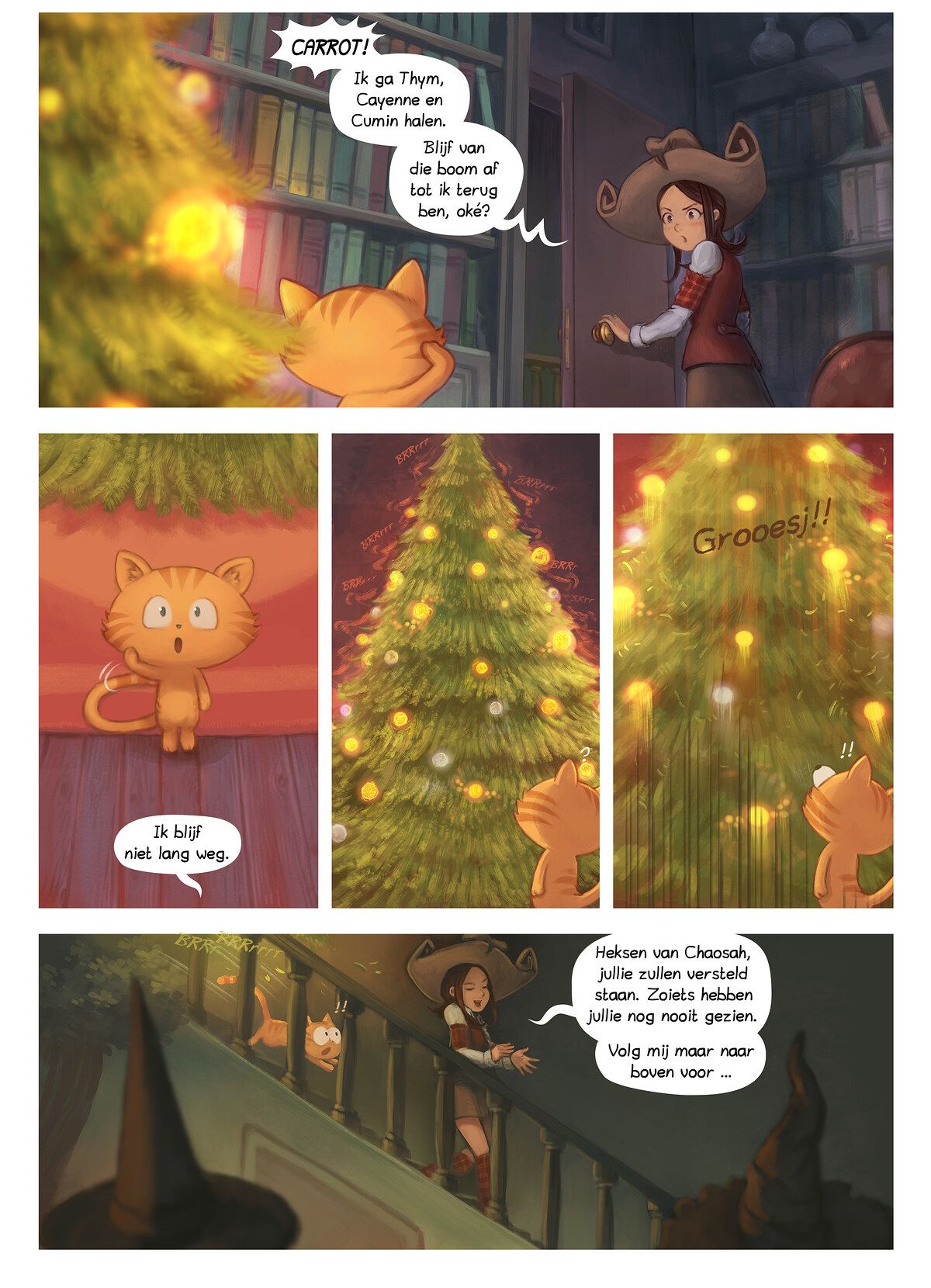 A webcomic page of Pepper&Carrot, aflevering 24 [nl], pagina 6