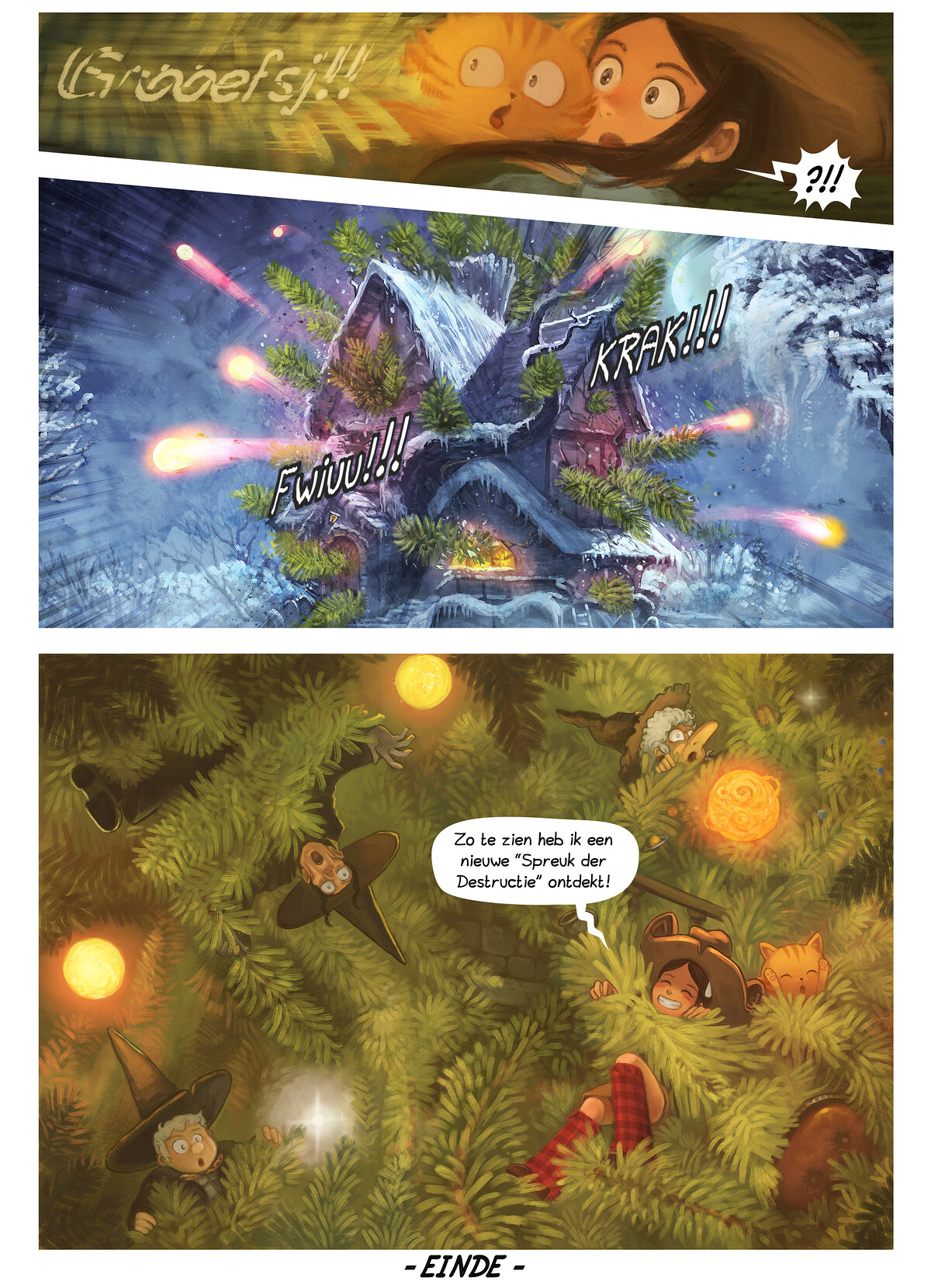 A webcomic page of Pepper&Carrot, aflevering 24 [nl], pagina 7