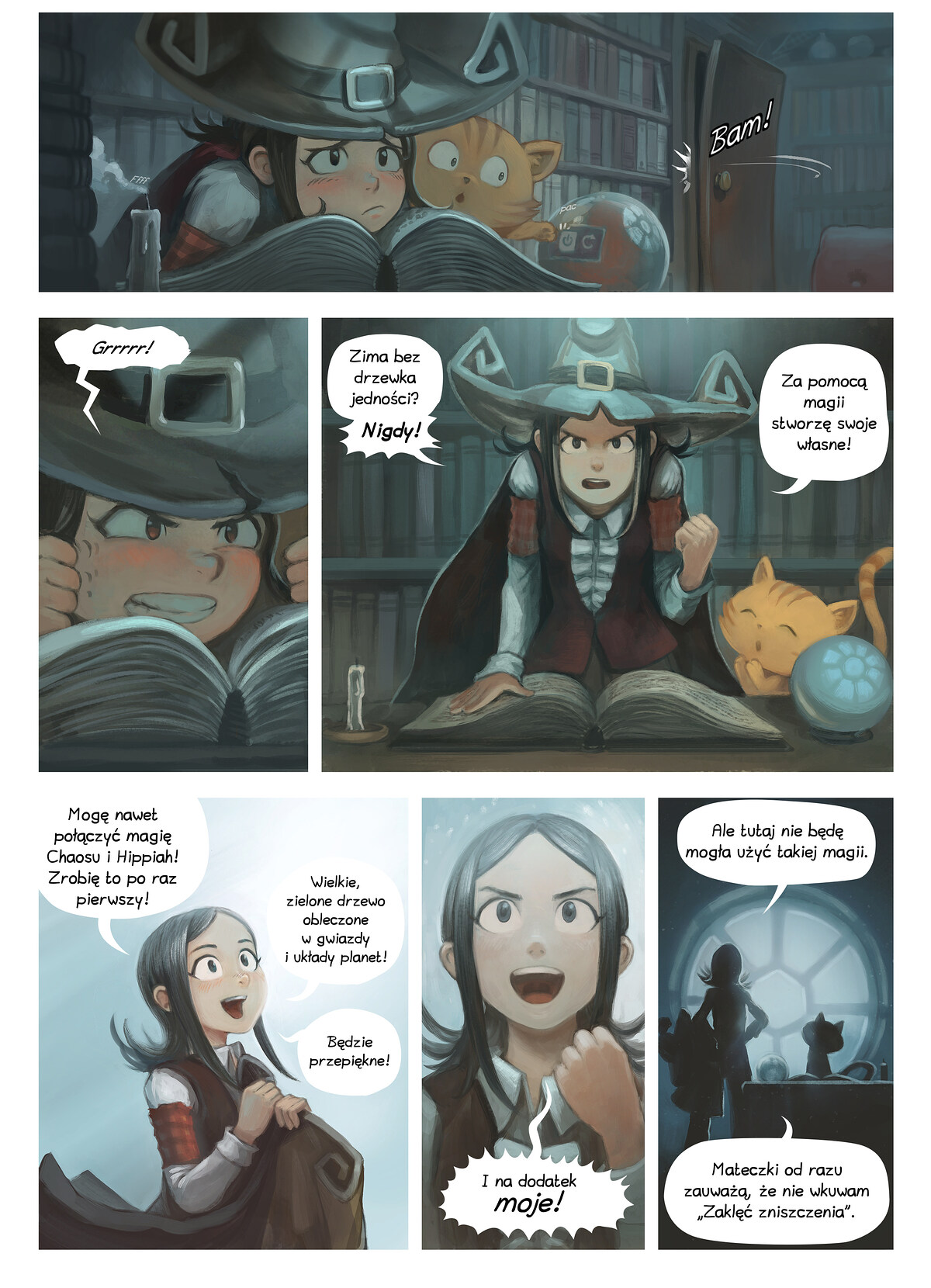 A webcomic page of Pepper&Carrot, odcinek 24 [pl], strona 2