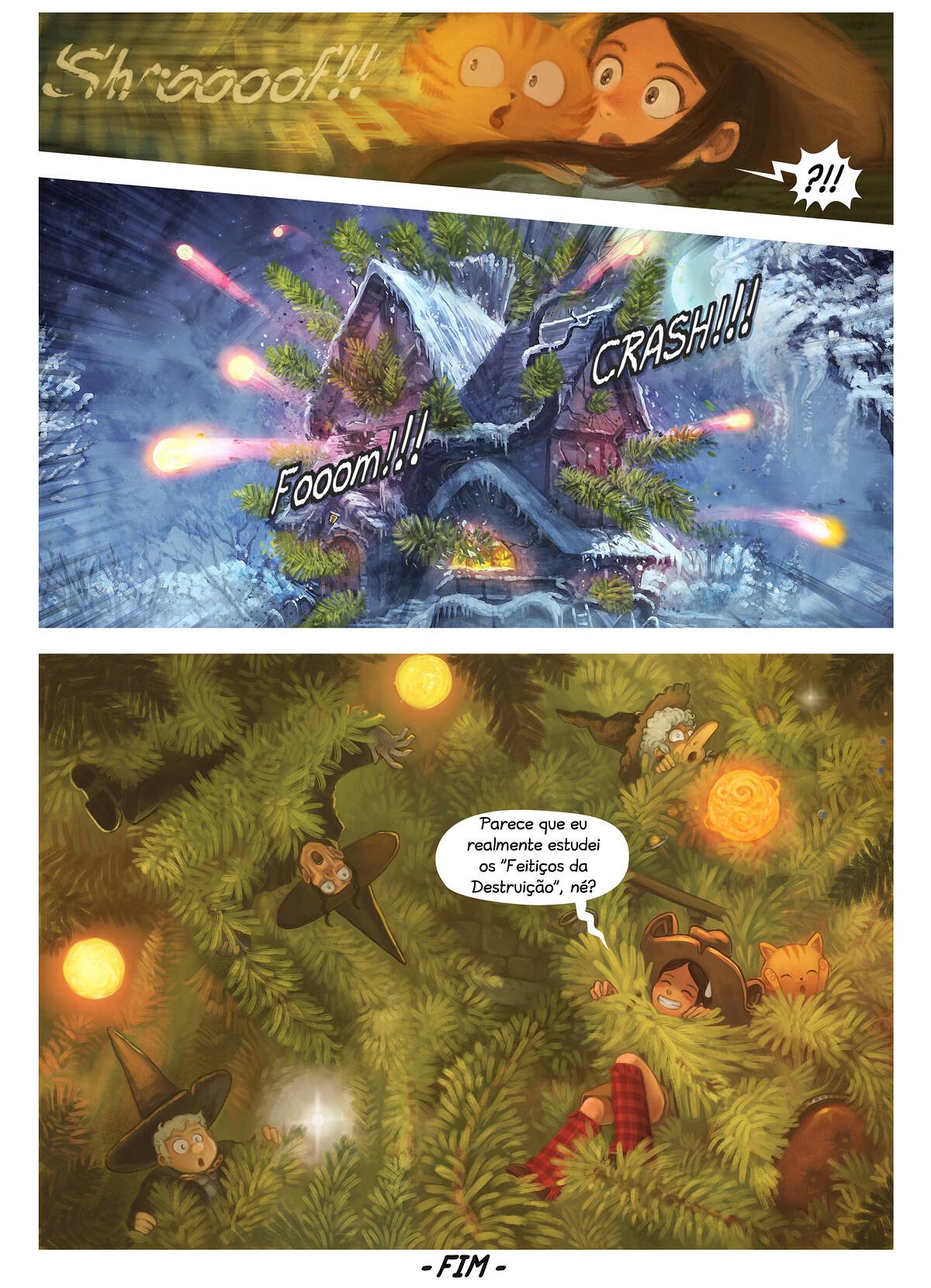 A webcomic page of Pepper&Carrot, episódio 24 [pt], página 7