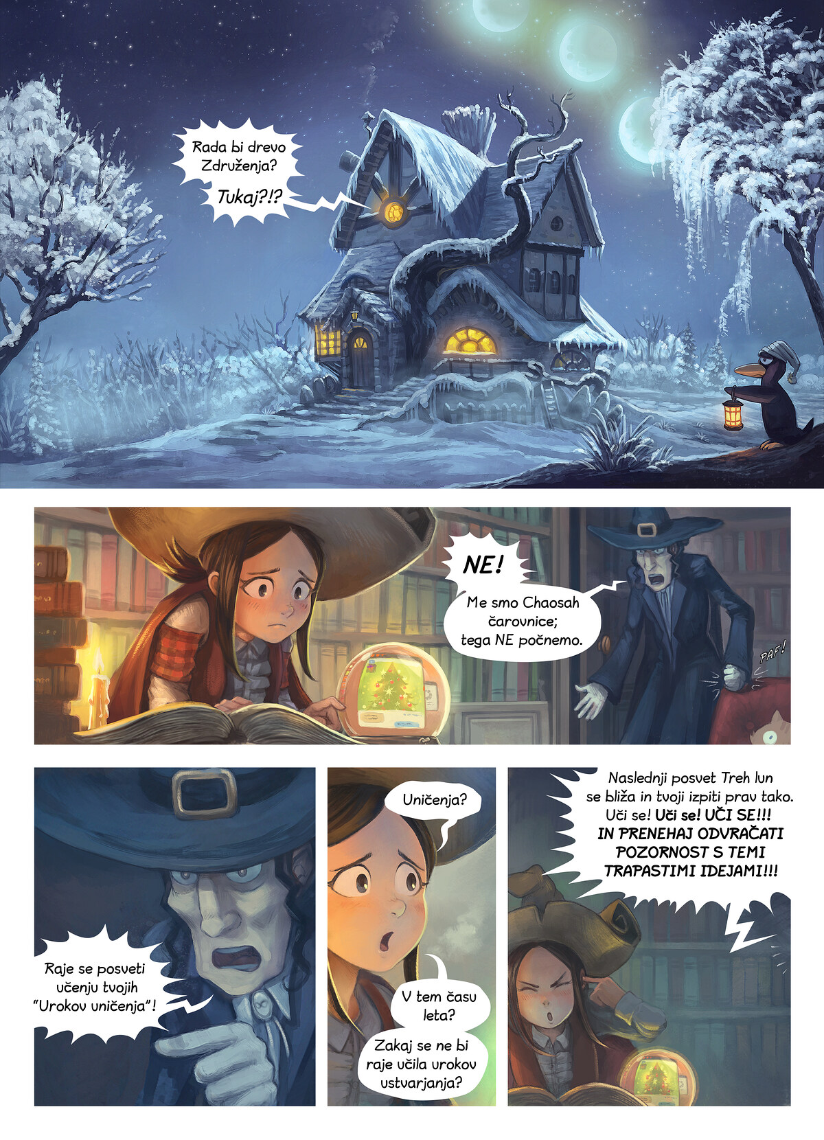 Epizoda 24: Drevo Združenja, Page 1