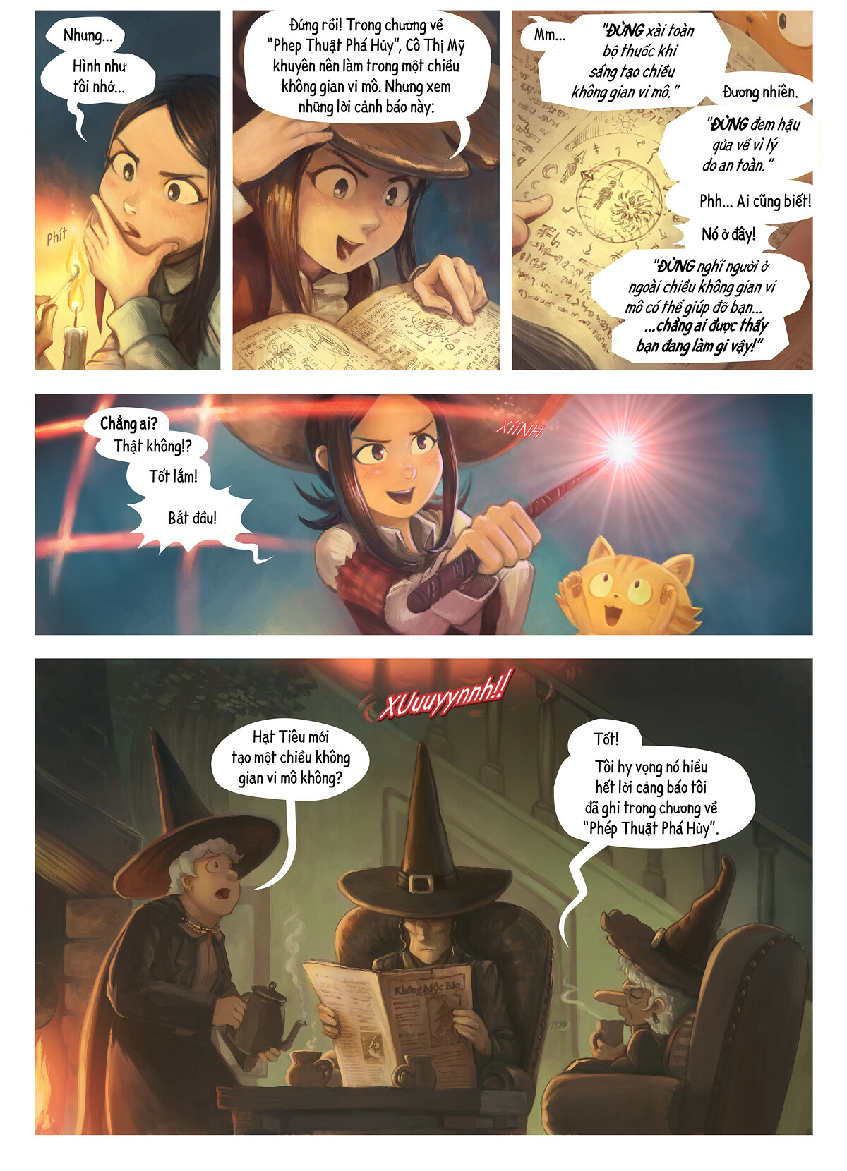 A webcomic page of Pepper&Carrot, Tập 24 [vi], trang 3