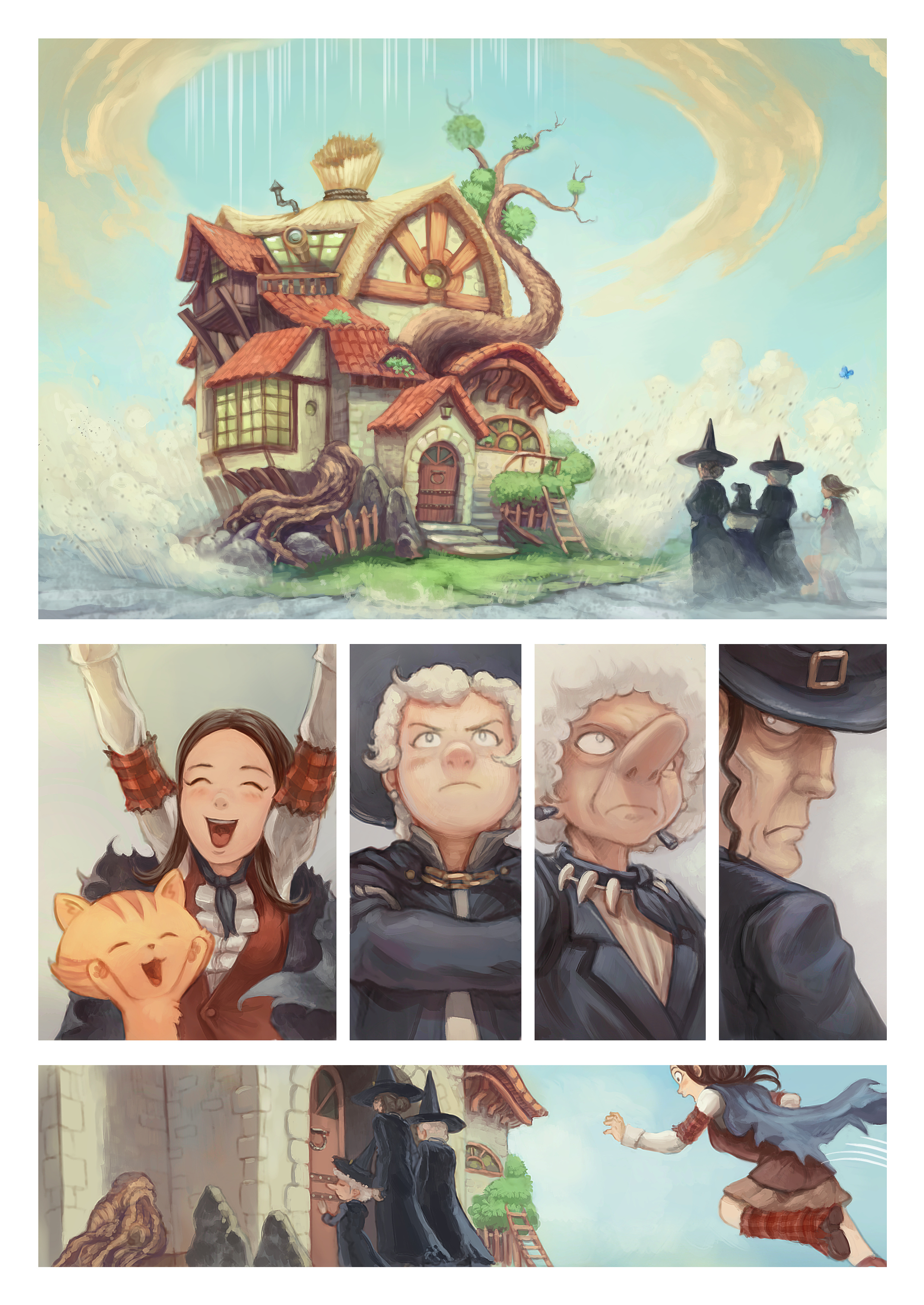 A webcomic page of Pepper&Carrot, 漫画全集 25 [cn], 页面 8