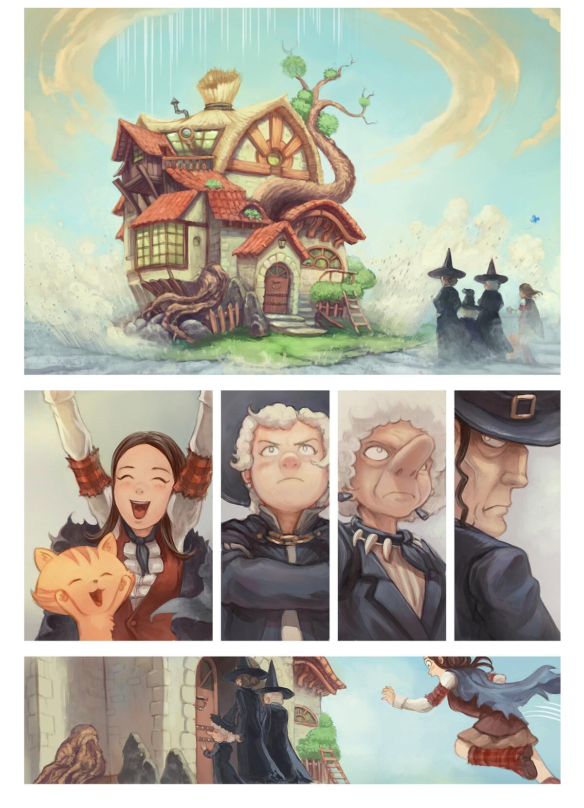 A webcomic page of Pepper&Carrot, épisode 25 [fr], page 8