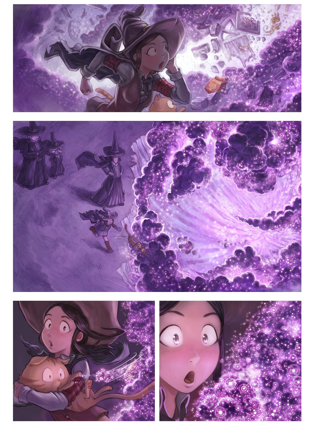 A webcomic page of Pepper&Carrot, episode 25 [id], halaman 4