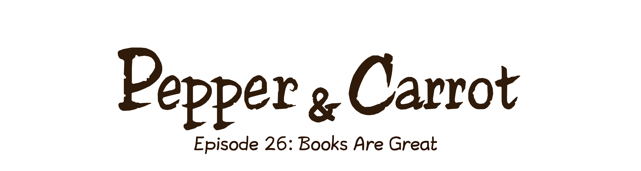 Episode 26: Books Are Great