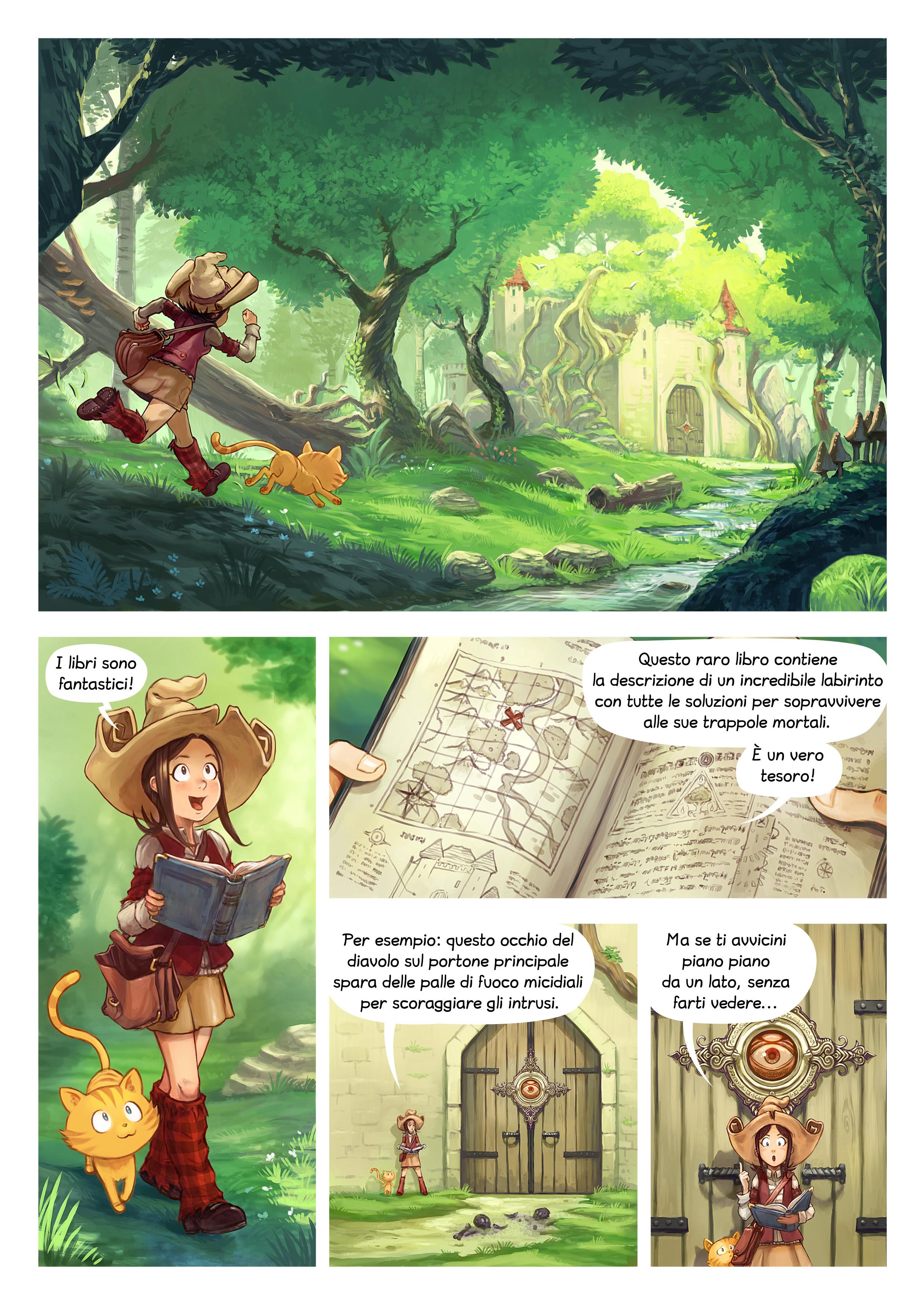 Episodio 26: I libri sono fantastici, Page 1