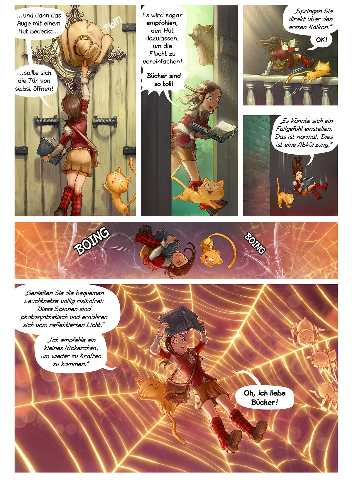 A webcomic page of Pepper&Carrot, Episode 26 [de], Seite 2