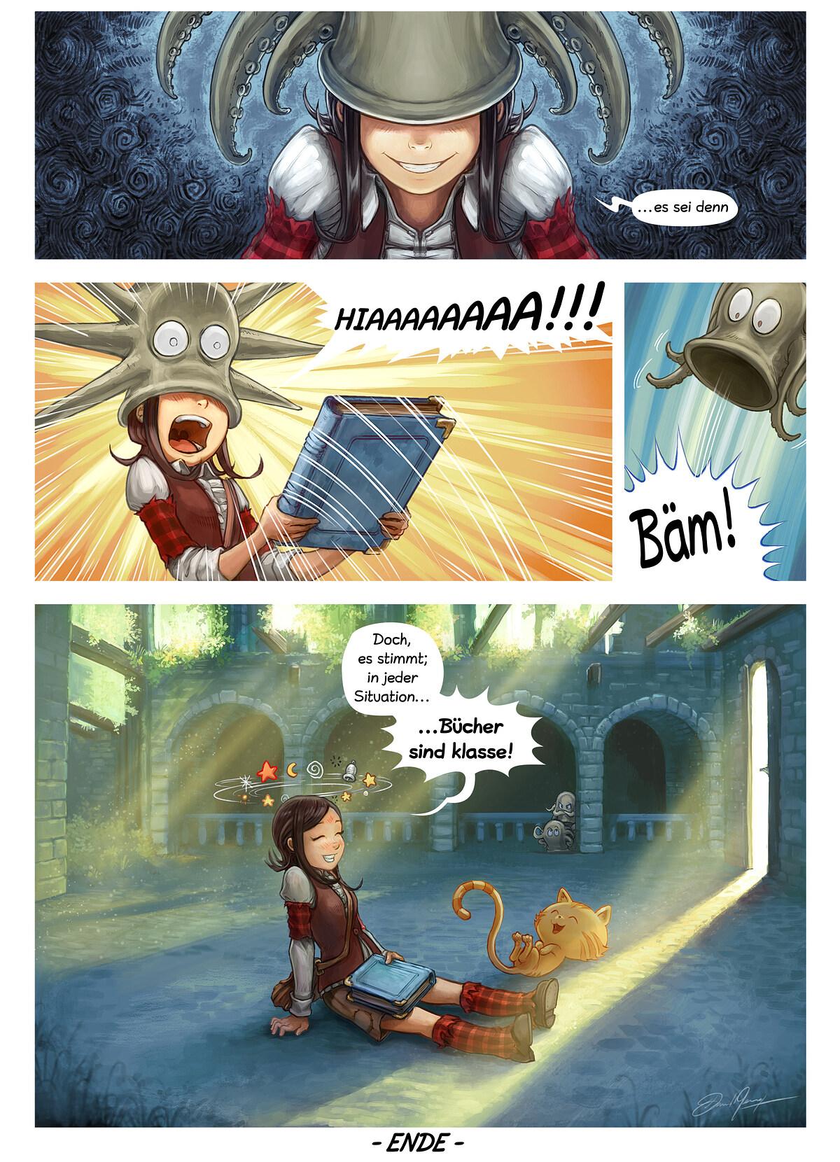 A webcomic page of Pepper&Carrot, Episode 26 [de], Seite 6