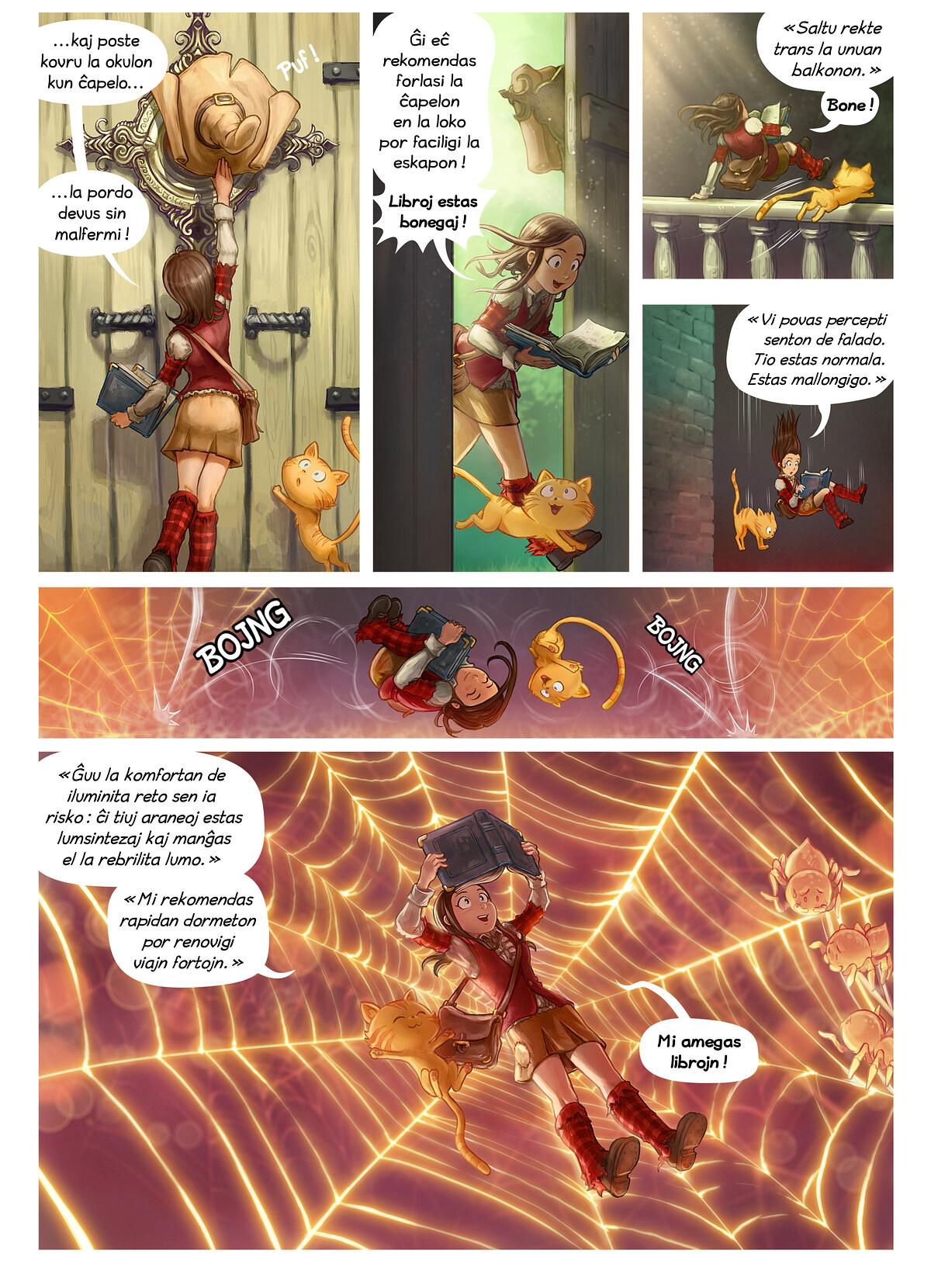 A webcomic page of Pepper&Carrot, rakonto 26 [eo], paĝo 2