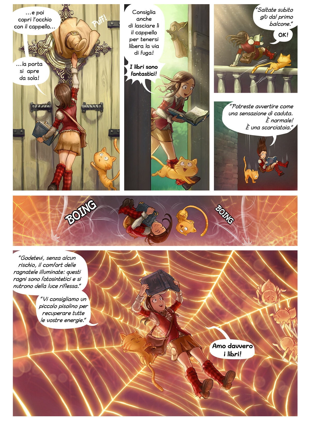 A webcomic page of Pepper&Carrot, episodio 26 [it], pagina 2