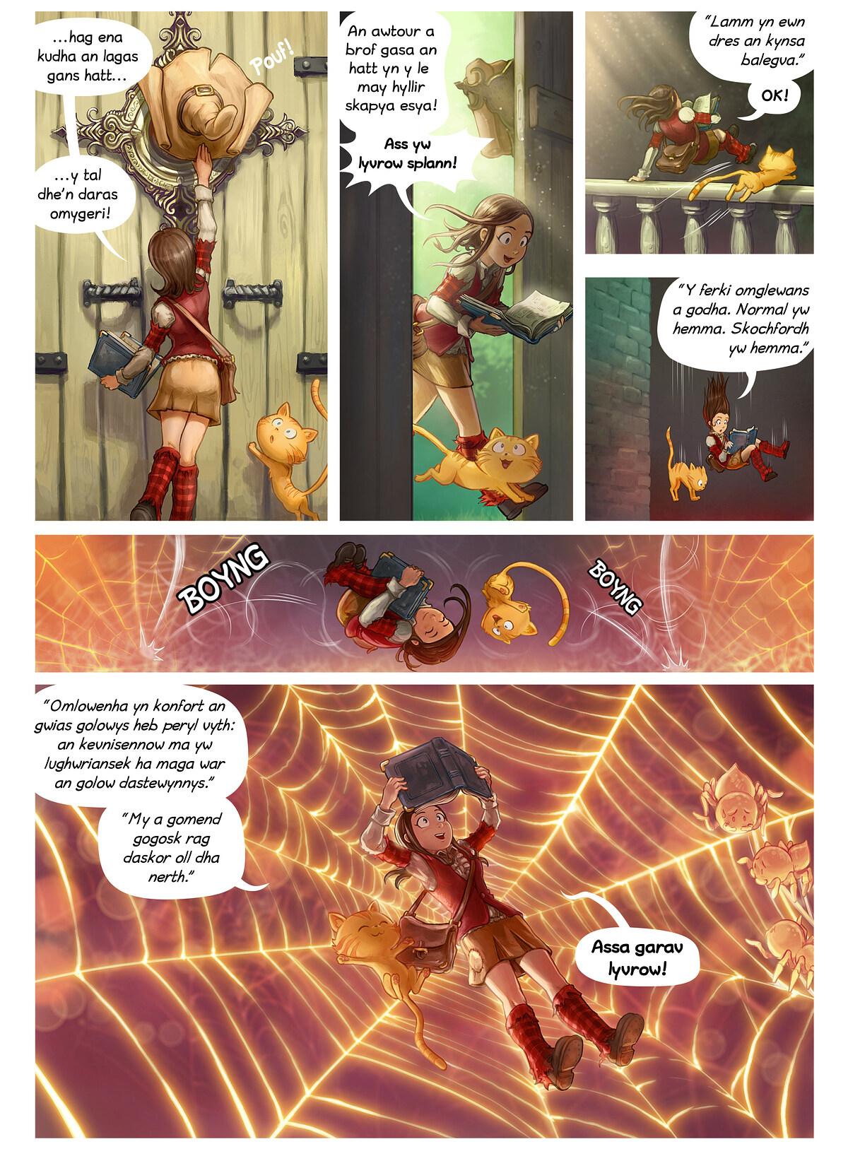 Rann 26: Splann yw Lyvrow, Page 2