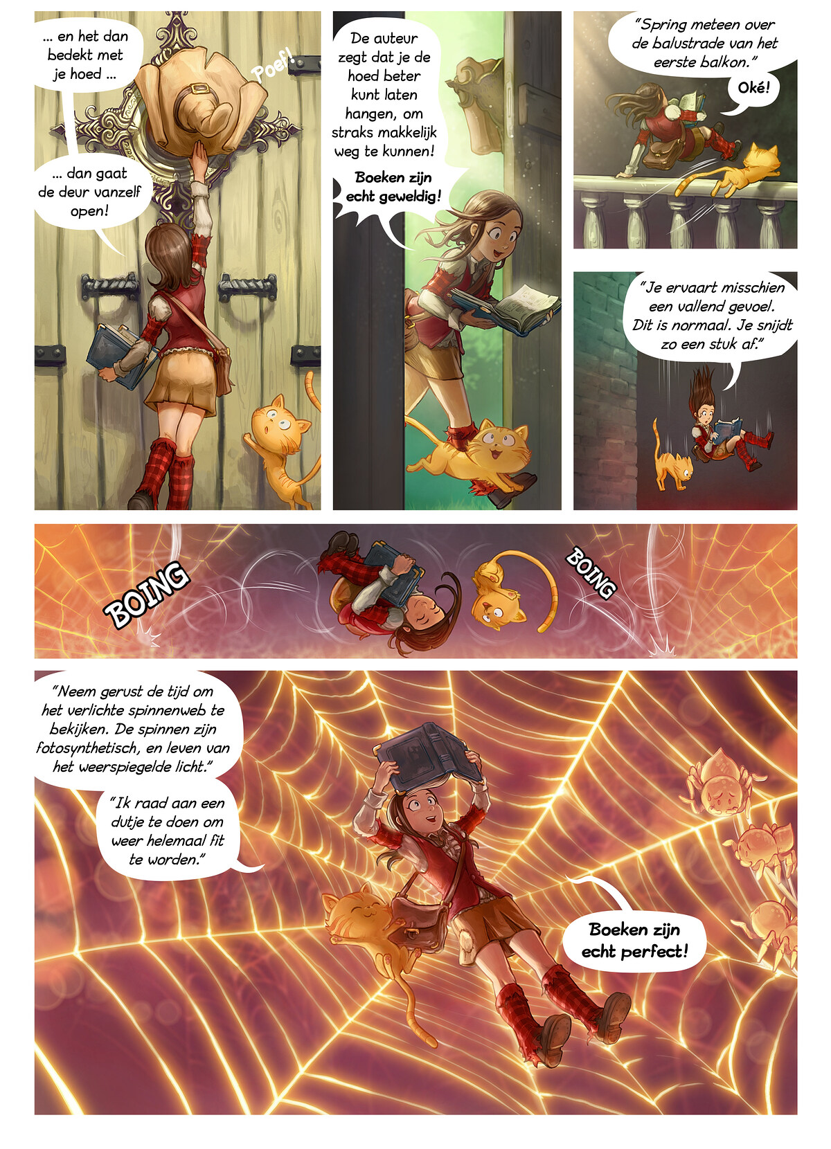 A webcomic page of Pepper&Carrot, aflevering 26 [nl], pagina 2