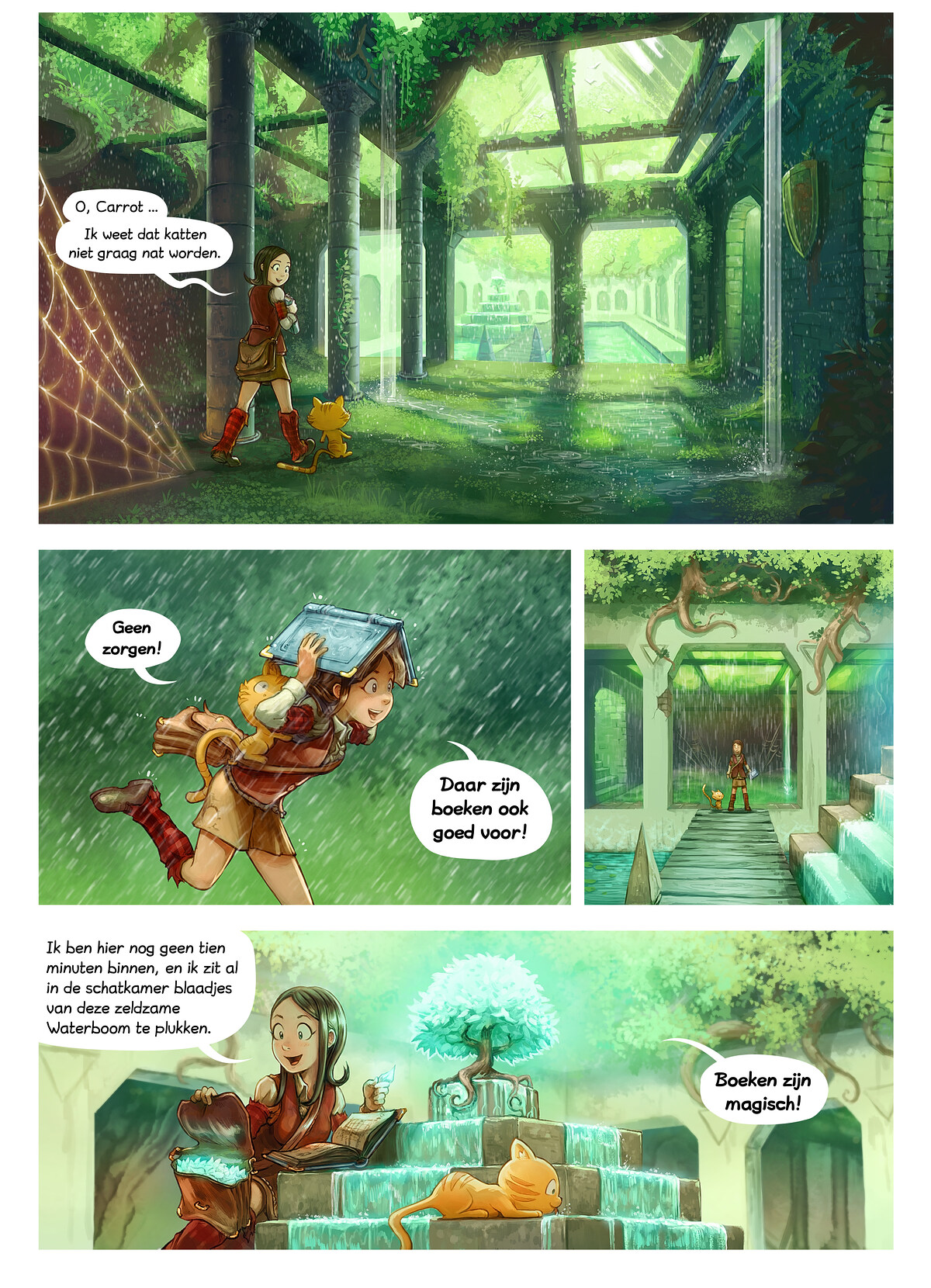 A webcomic page of Pepper&Carrot, aflevering 26 [nl], pagina 3