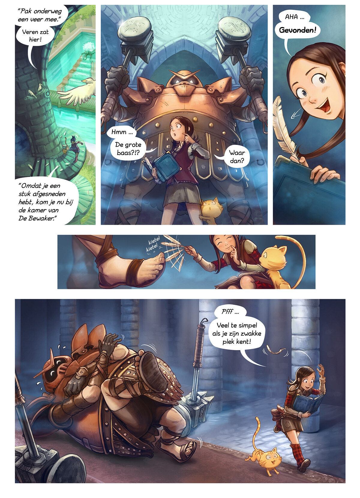 A webcomic page of Pepper&Carrot, aflevering 26 [nl], pagina 4