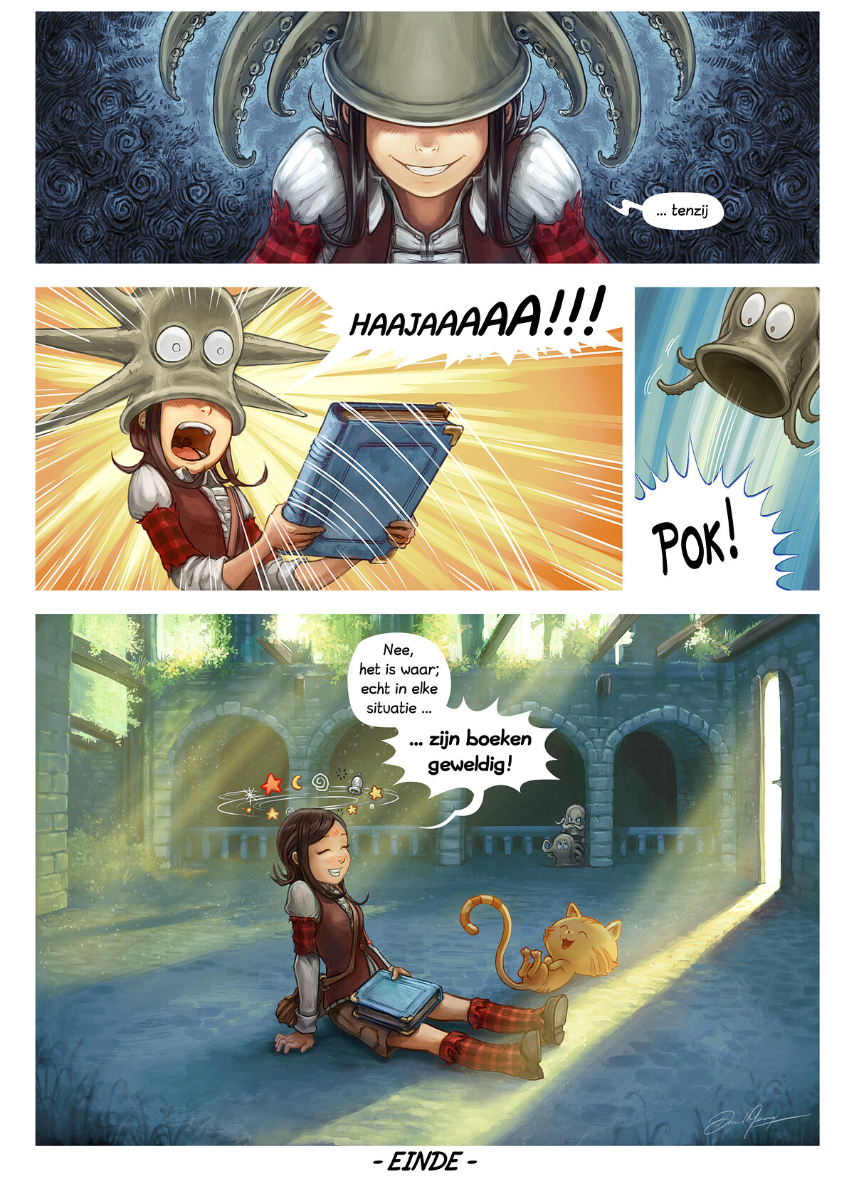 A webcomic page of Pepper&Carrot, aflevering 26 [nl], pagina 6