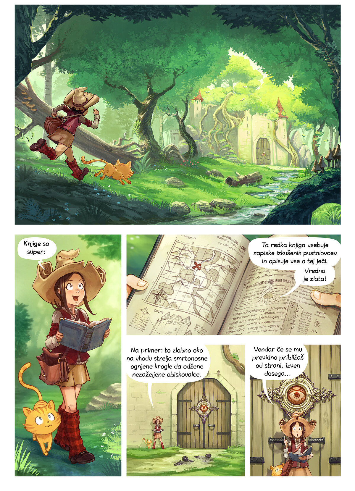 Epizoda 26: Knjige so super, Page 1