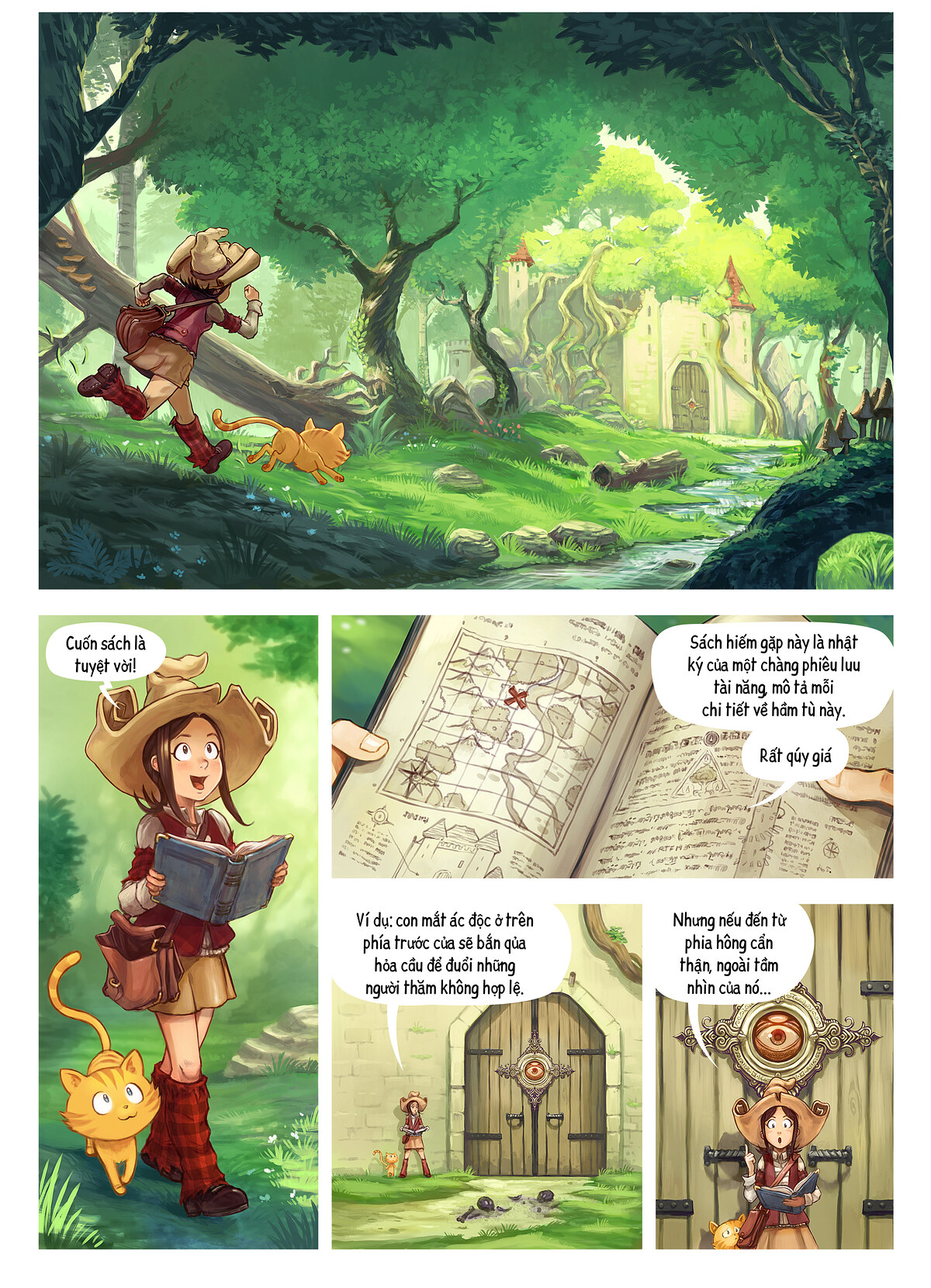A webcomic page of Pepper&Carrot, Tập 26 [vi], trang 1