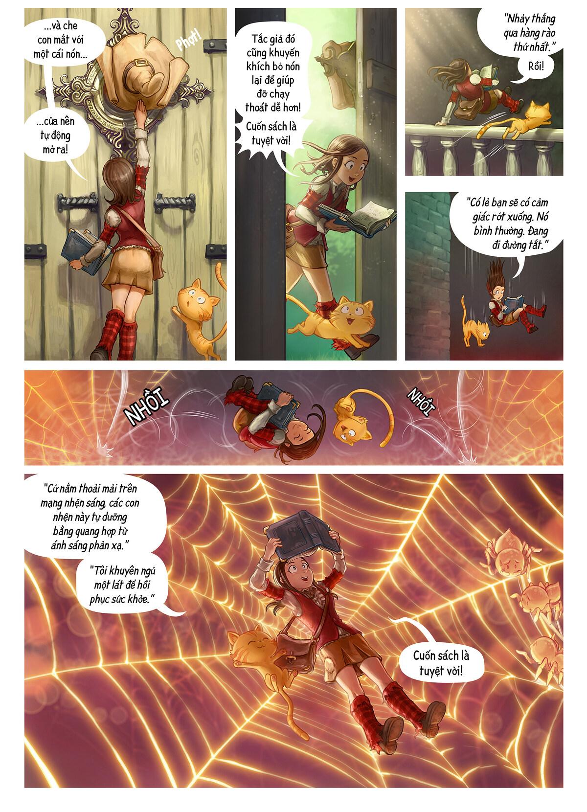 A webcomic page of Pepper&Carrot, Tập 26 [vi], trang 2