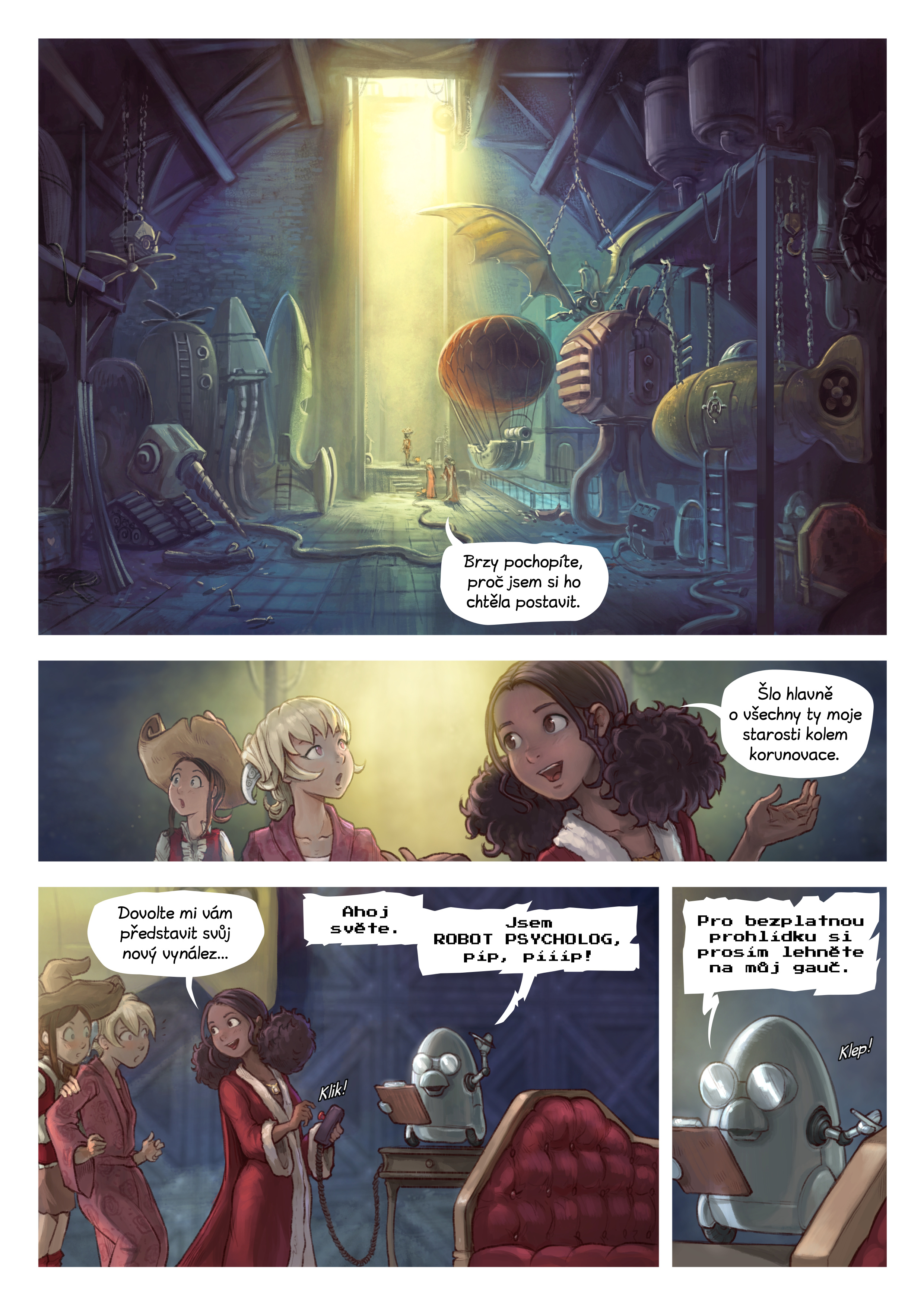 27. díl: Koriandřin vynález, Page 3