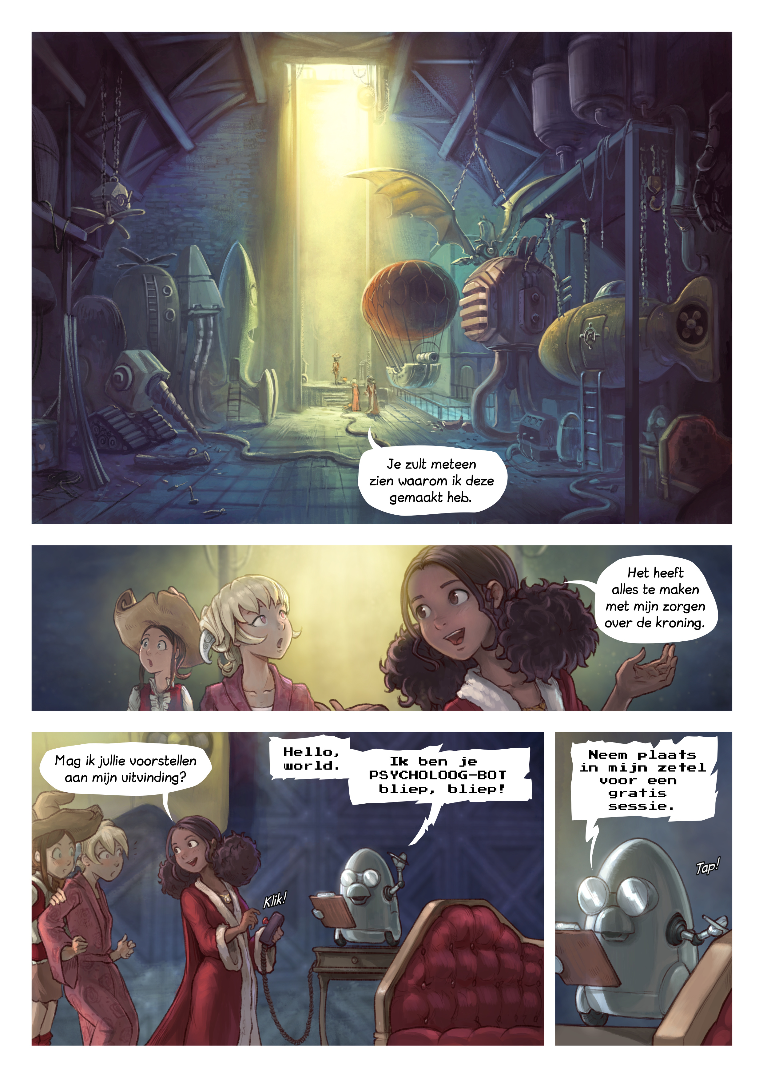 A webcomic page of Pepper&Carrot, aflevering 27 [nl], pagina 3