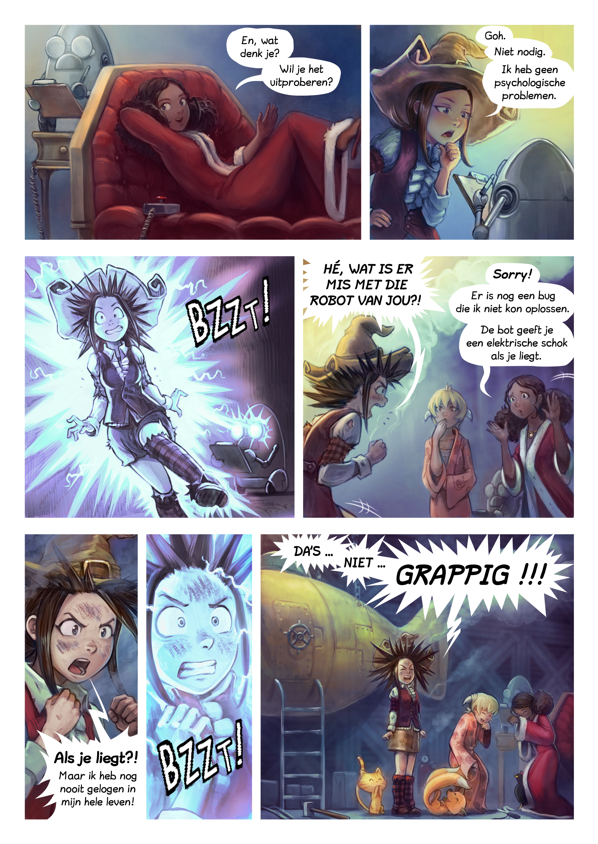 A webcomic page of Pepper&Carrot, aflevering 27 [nl], pagina 4