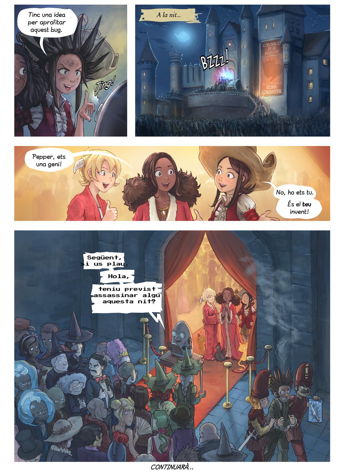 A webcomic page of Pepper&Carrot, episodi 27 [ca], pàgina 6