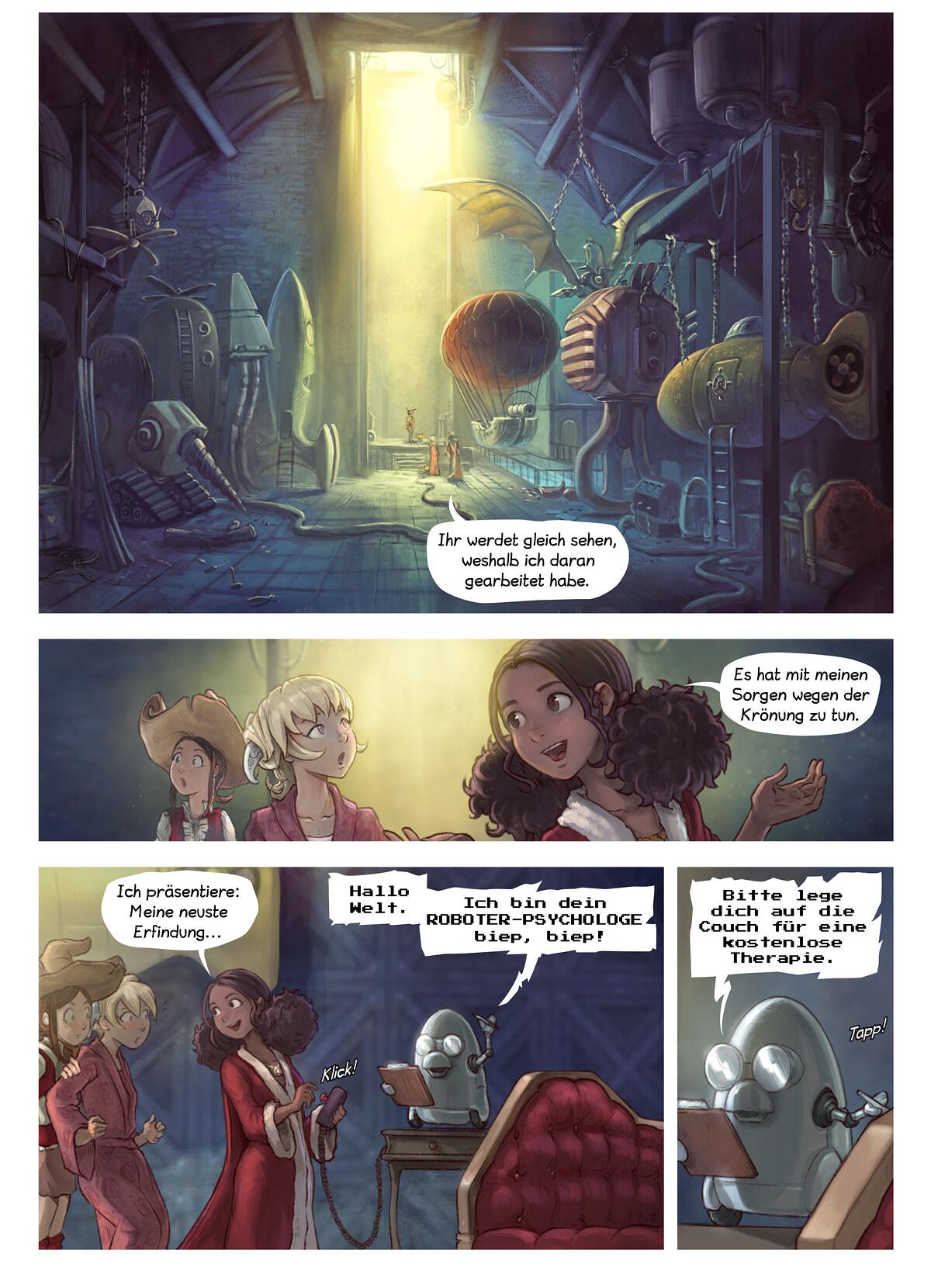 A webcomic page of Pepper&Carrot, Episode 27 [de], Seite 3