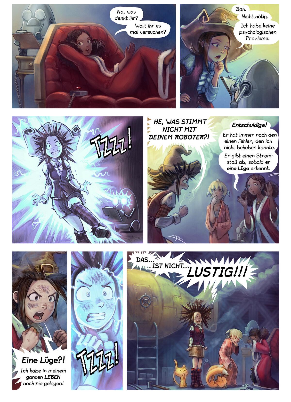 A webcomic page of Pepper&Carrot, Episode 27 [de], Seite 4