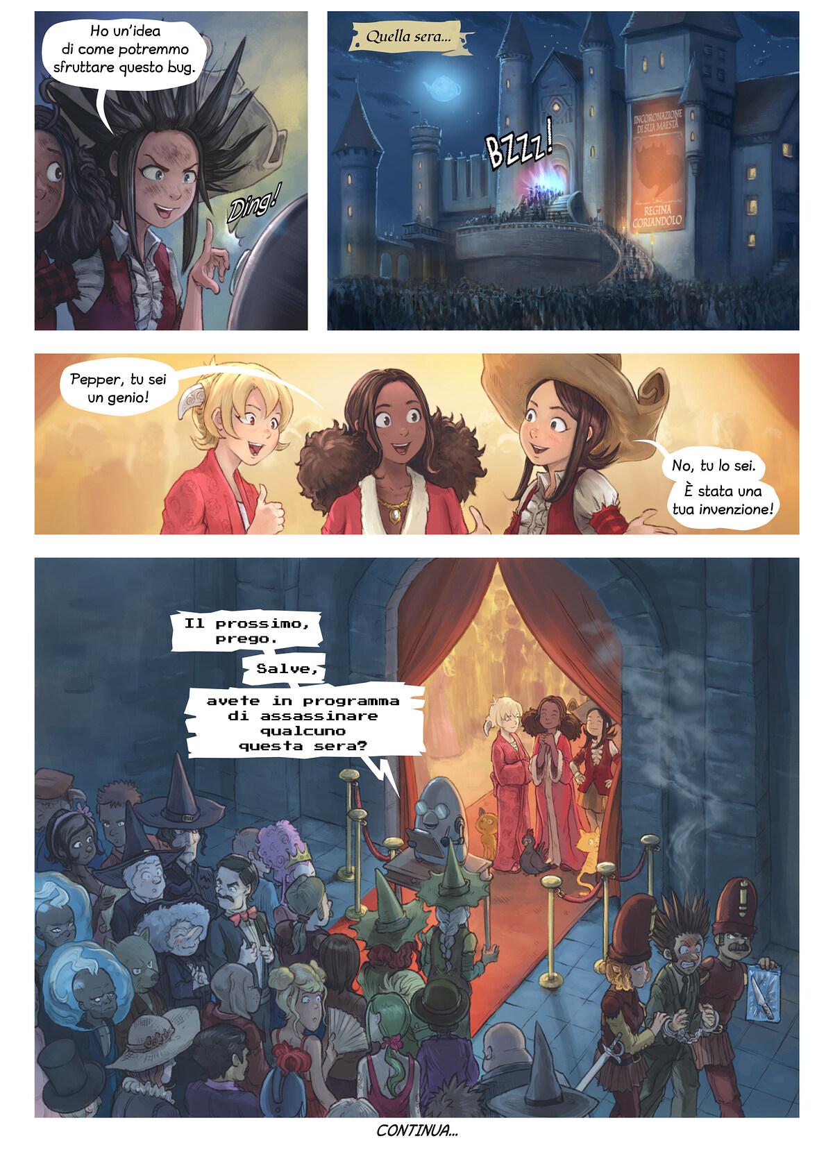 Episodio 27: L'invenzione di Coriandolo, Page 6