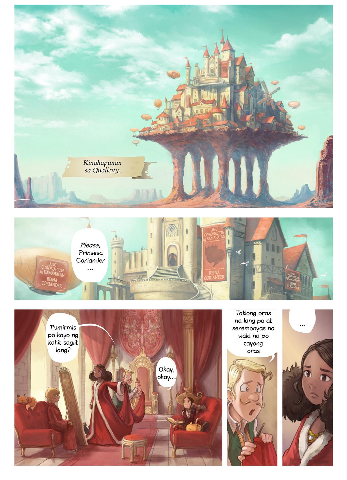 Episode 27: Coriander's Invention, Page 1