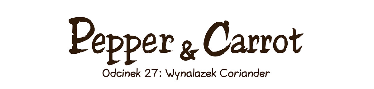 A webcomic page of Pepper&Carrot, odcinek 27 [pl], strona 0