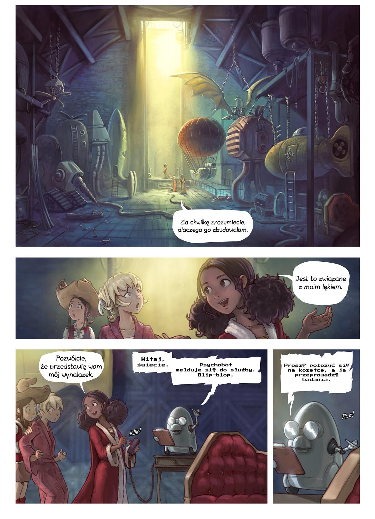 A webcomic page of Pepper&Carrot, odcinek 27 [pl], strona 3