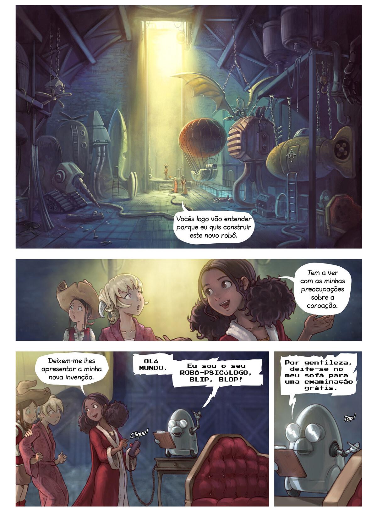 A webcomic page of Pepper&Carrot, episódio 27 [pt], página 3