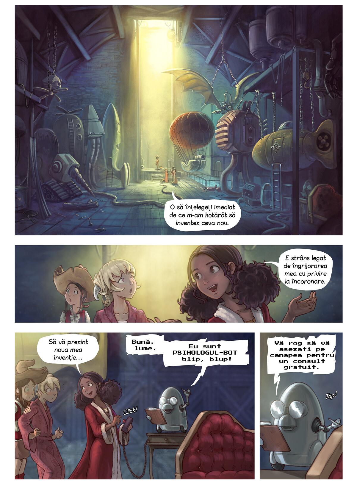 Episodul 27: Invenția lui Coriander, Page 3
