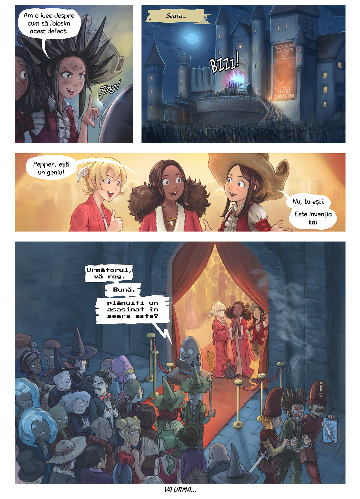 Episodul 27: Invenția lui Coriander, Page 6