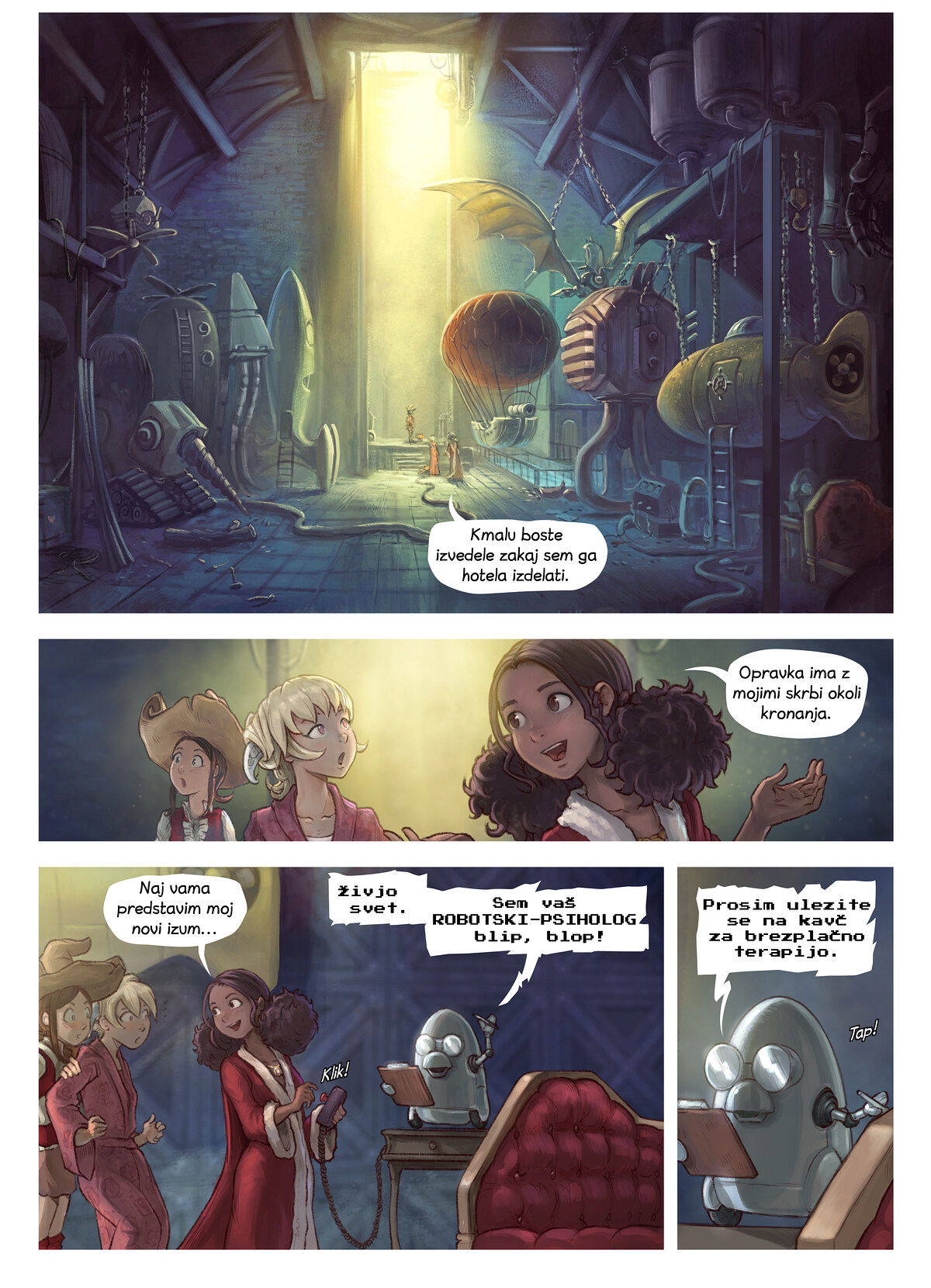 Epizoda 27: Coriandrin izum, Page 3