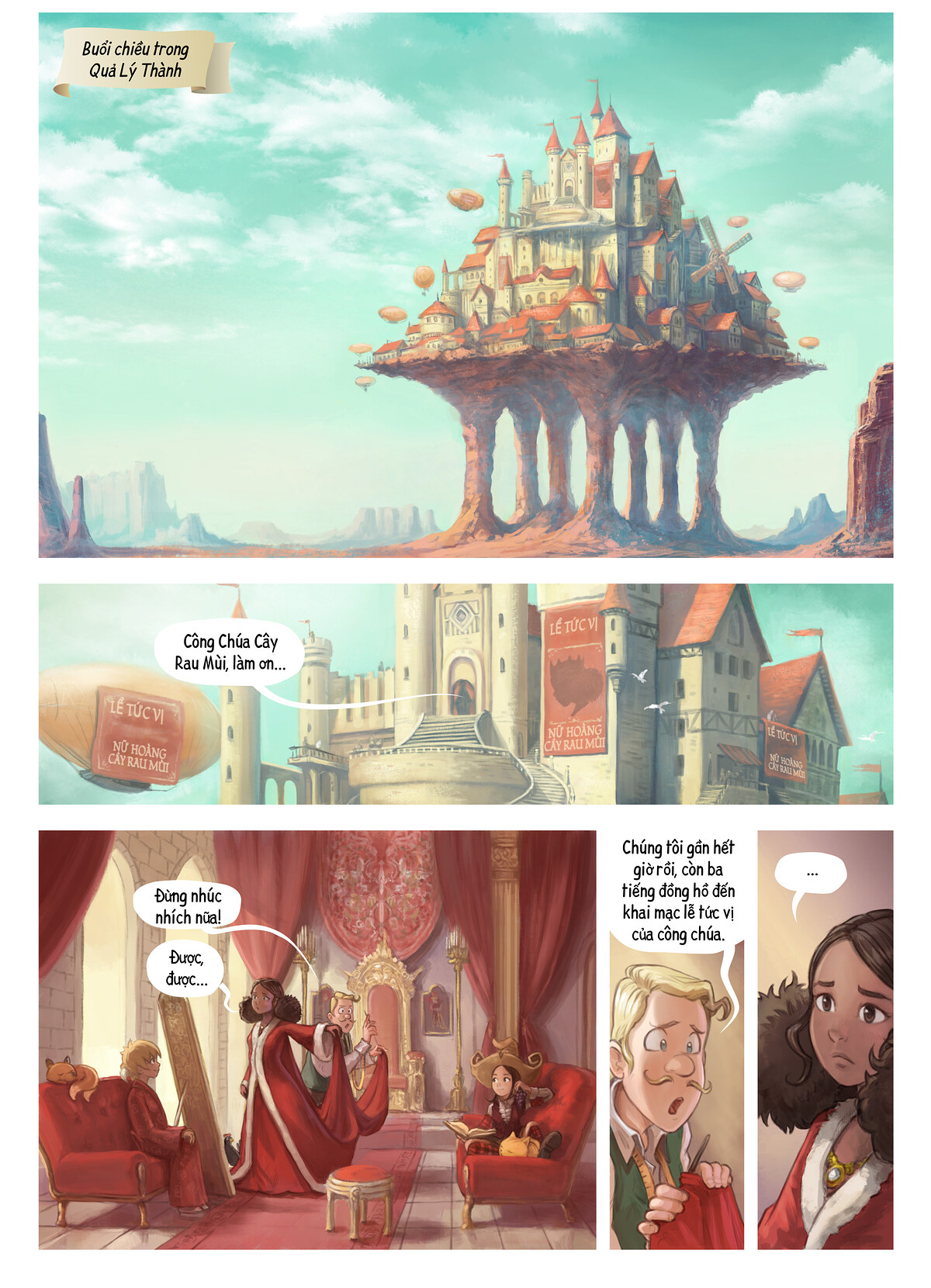 A webcomic page of Pepper&Carrot, Tập 27 [vi], trang 1