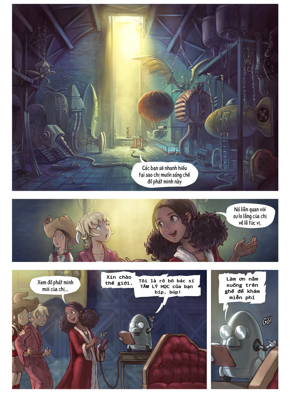 A webcomic page of Pepper&Carrot, Tập 27 [vi], trang 3