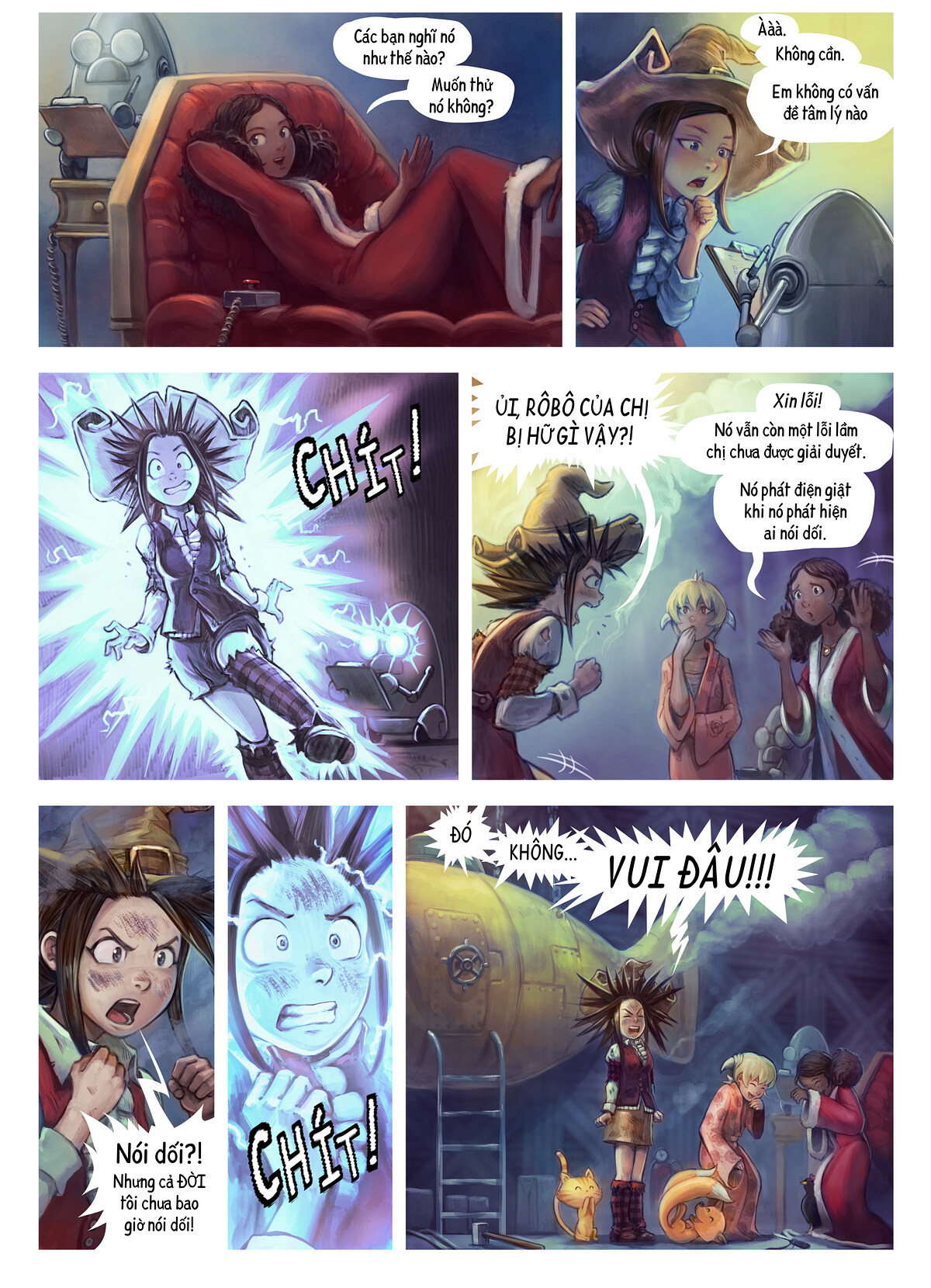 A webcomic page of Pepper&Carrot, Tập 27 [vi], trang 4