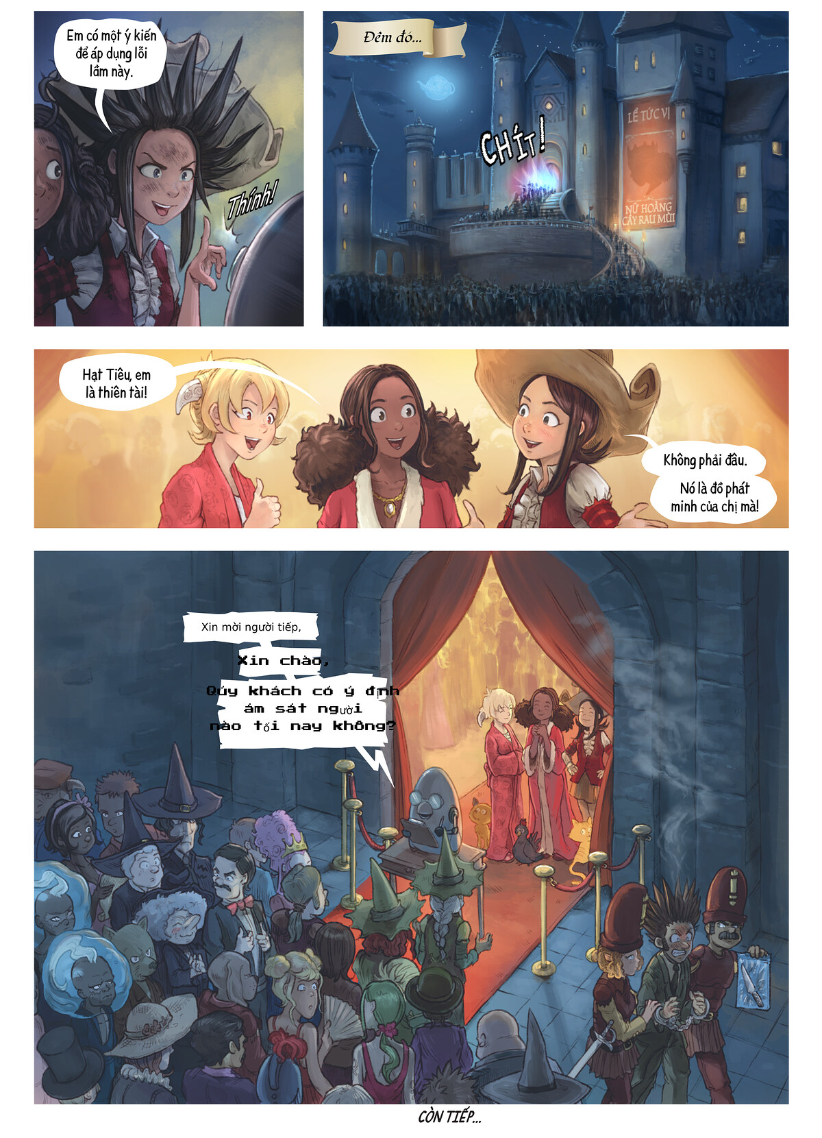 A webcomic page of Pepper&Carrot, Tập 27 [vi], trang 6