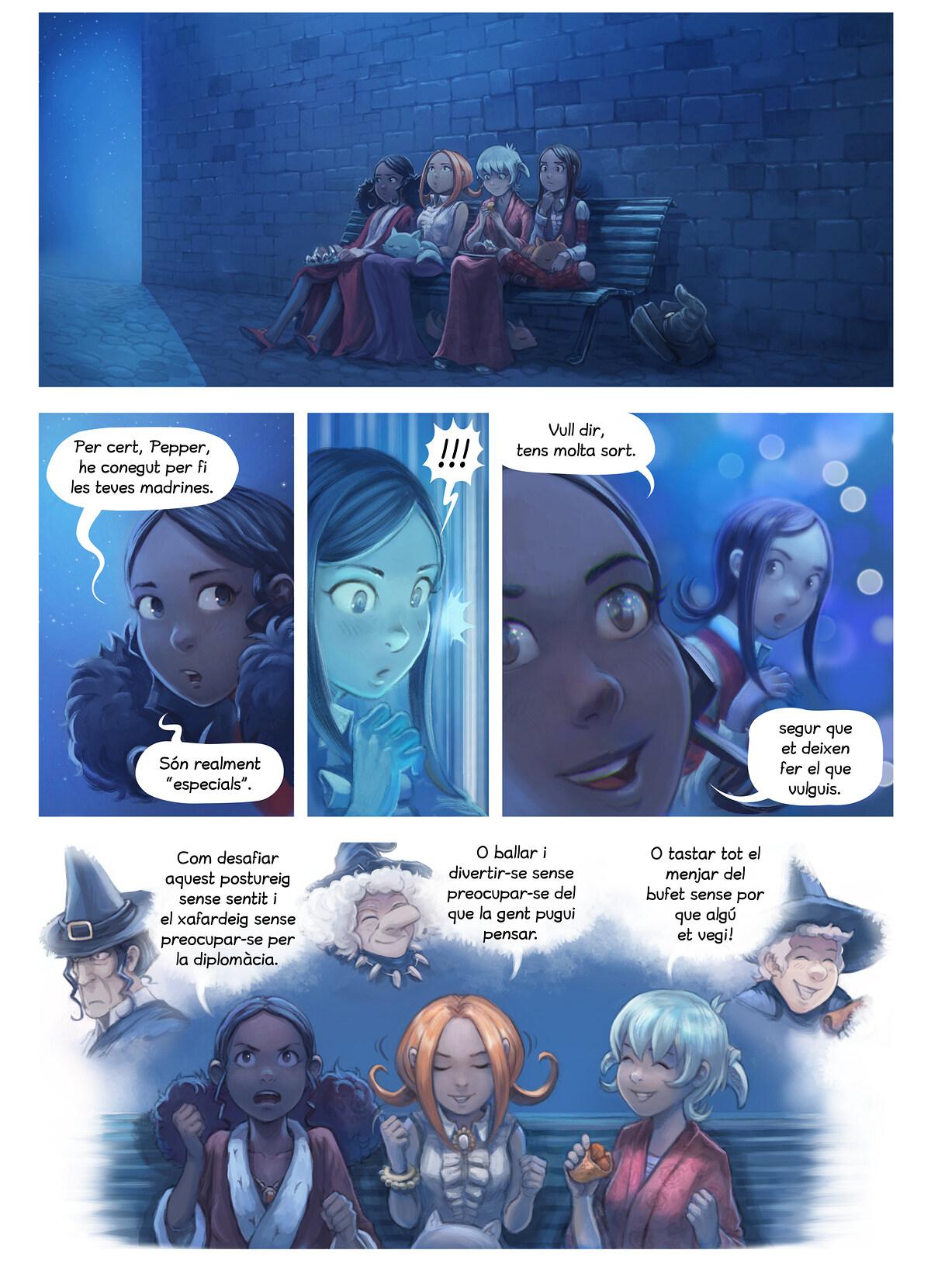 A webcomic page of Pepper&Carrot, episodi 28 [ca], pàgina 8