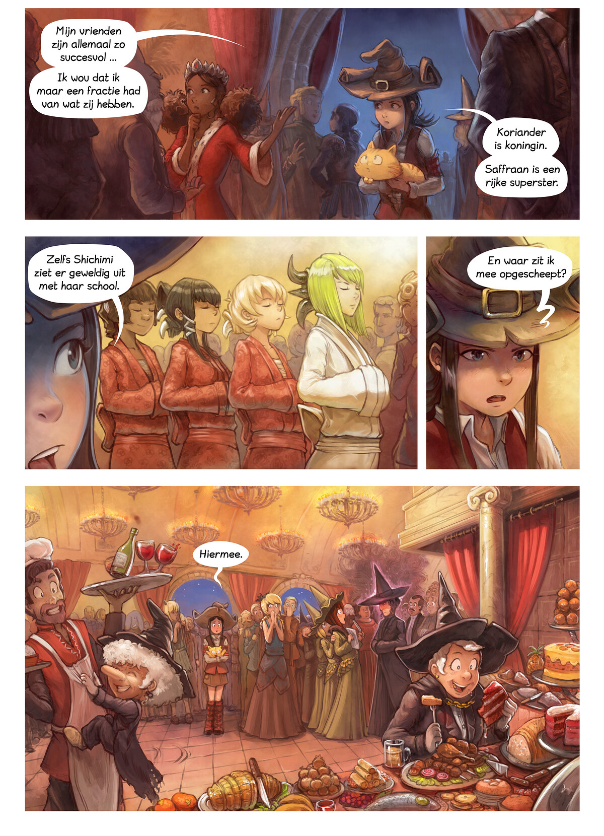 A webcomic page of Pepper&Carrot, aflevering 28 [nl], pagina 5